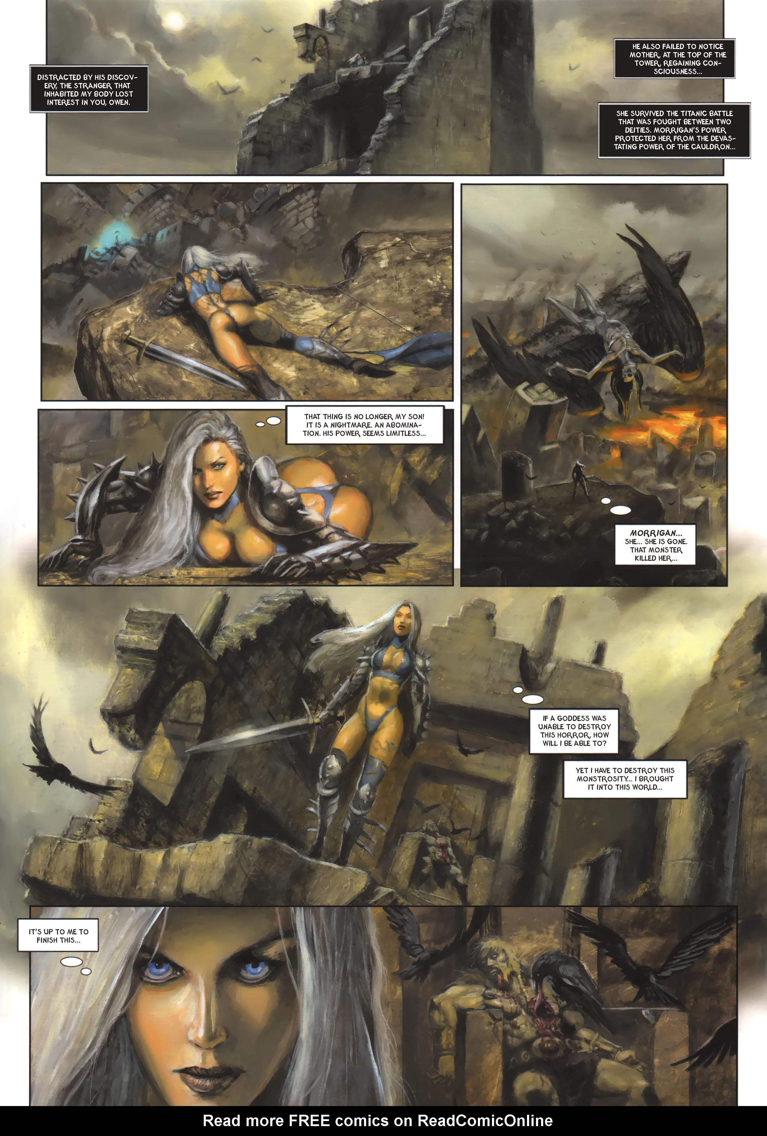 Read online Arawn comic -  Issue #6 - 8