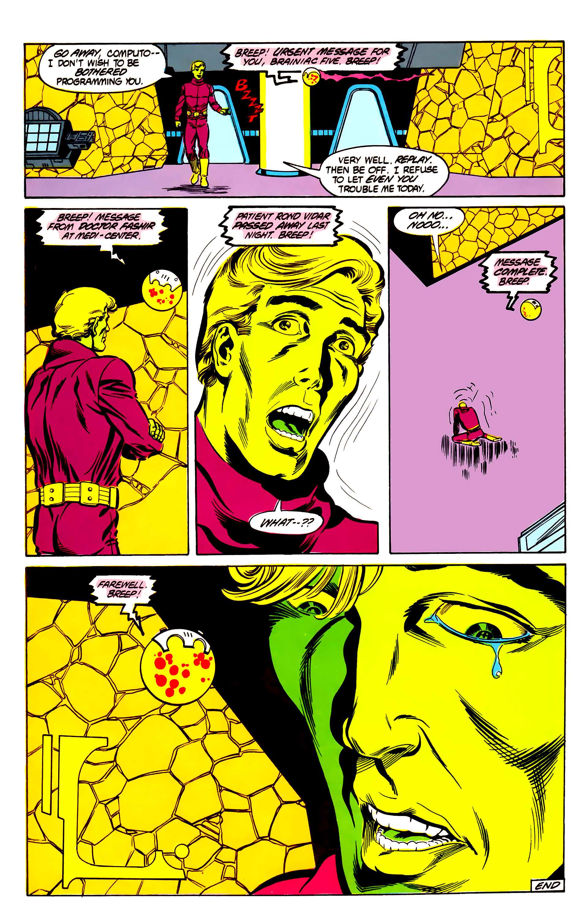 Legion of Super-Heroes (1984) 30 Page 28