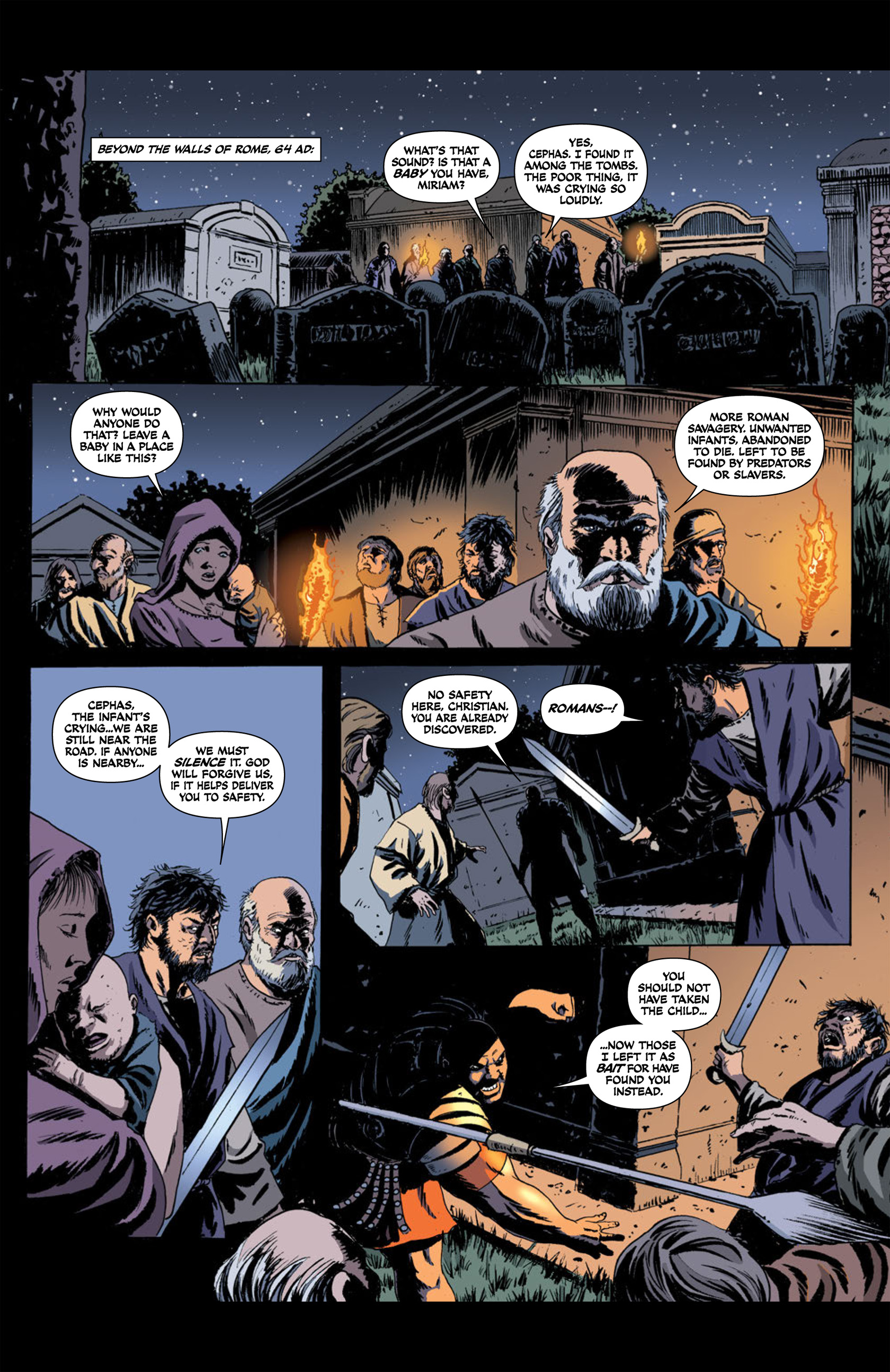 Read online Aquila comic -  Issue #2 - 26