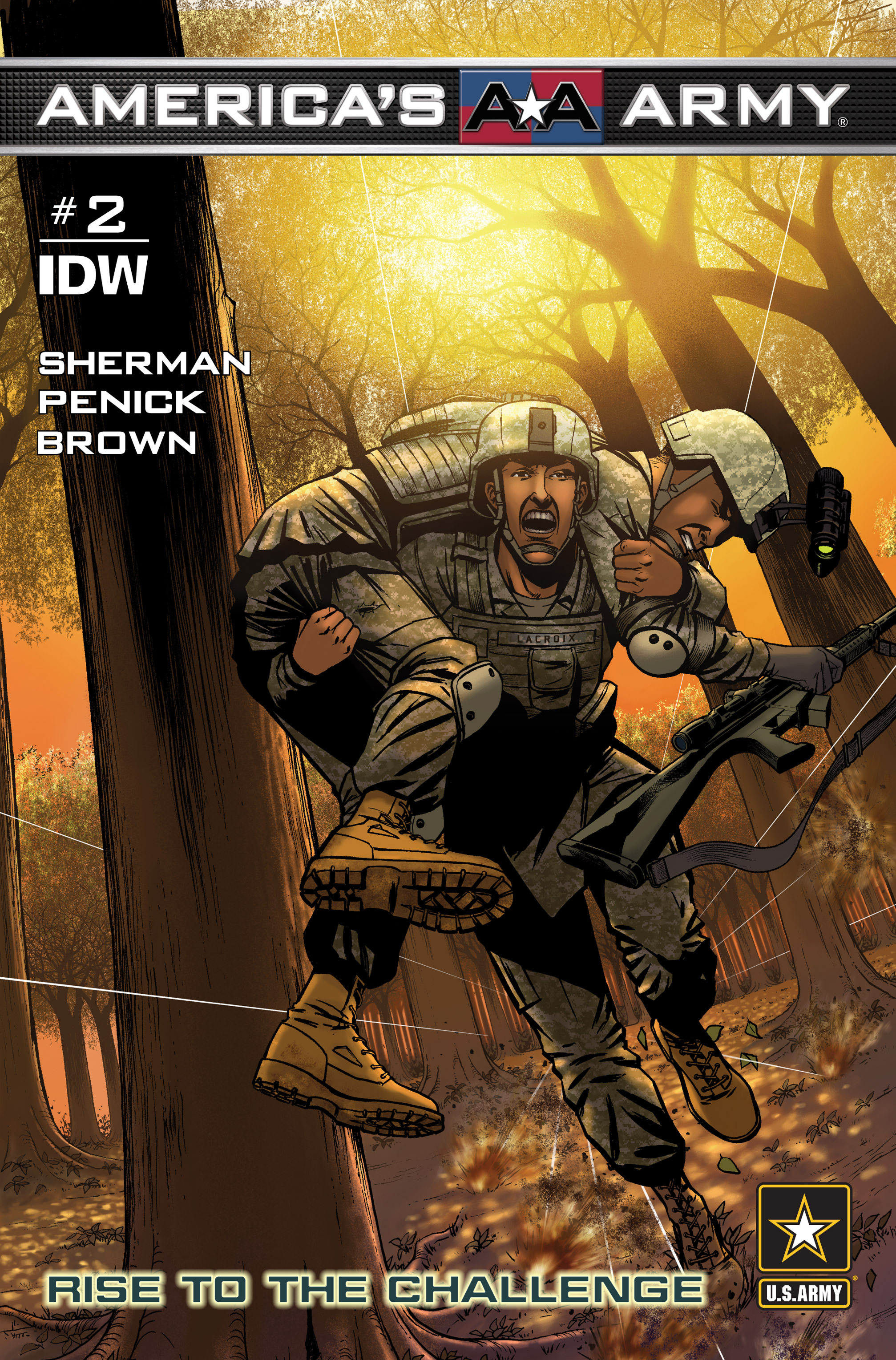 Read online America's Army comic -  Issue #2 - 1