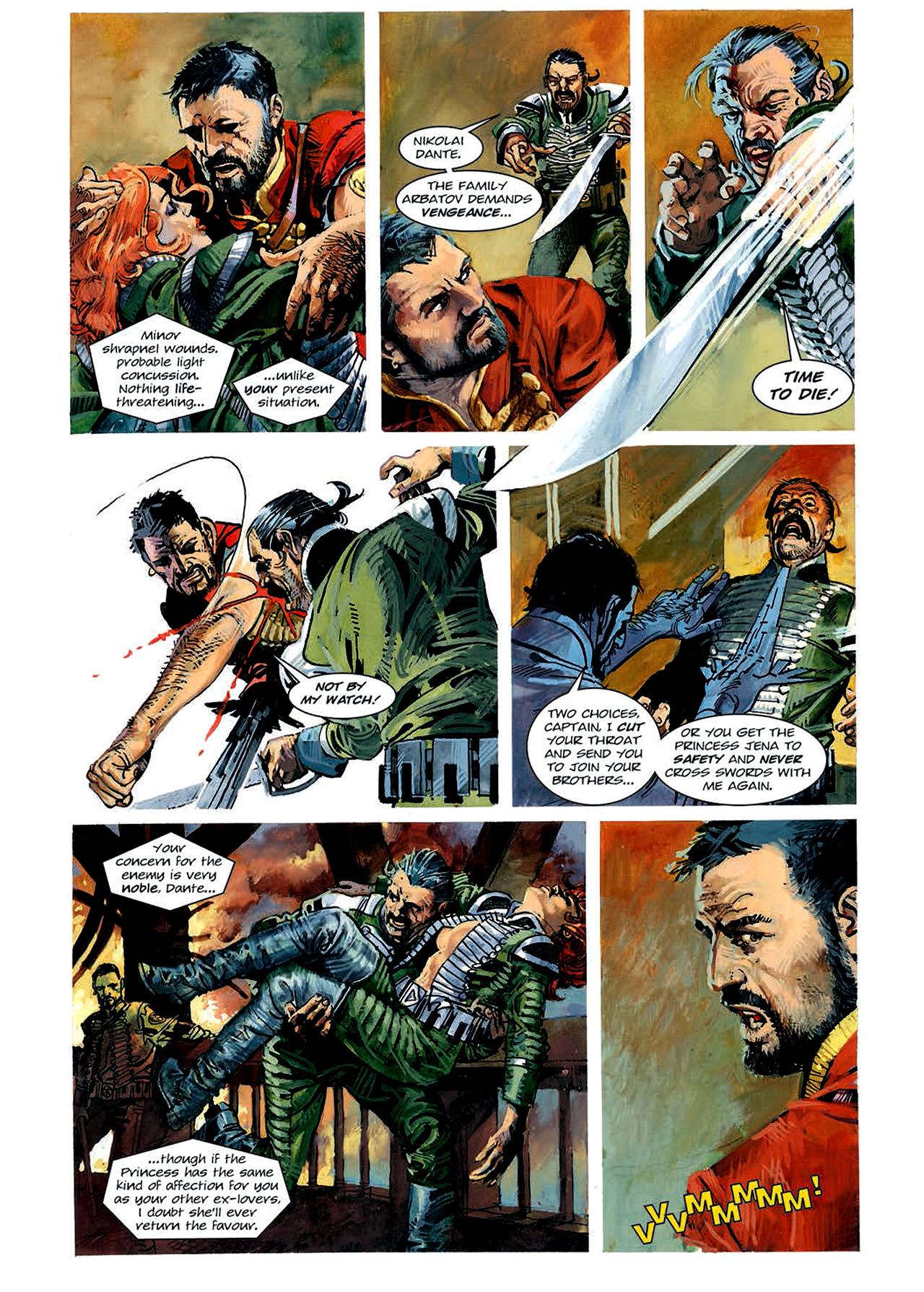 Read online Nikolai Dante comic -  Issue # TPB 4 - 78