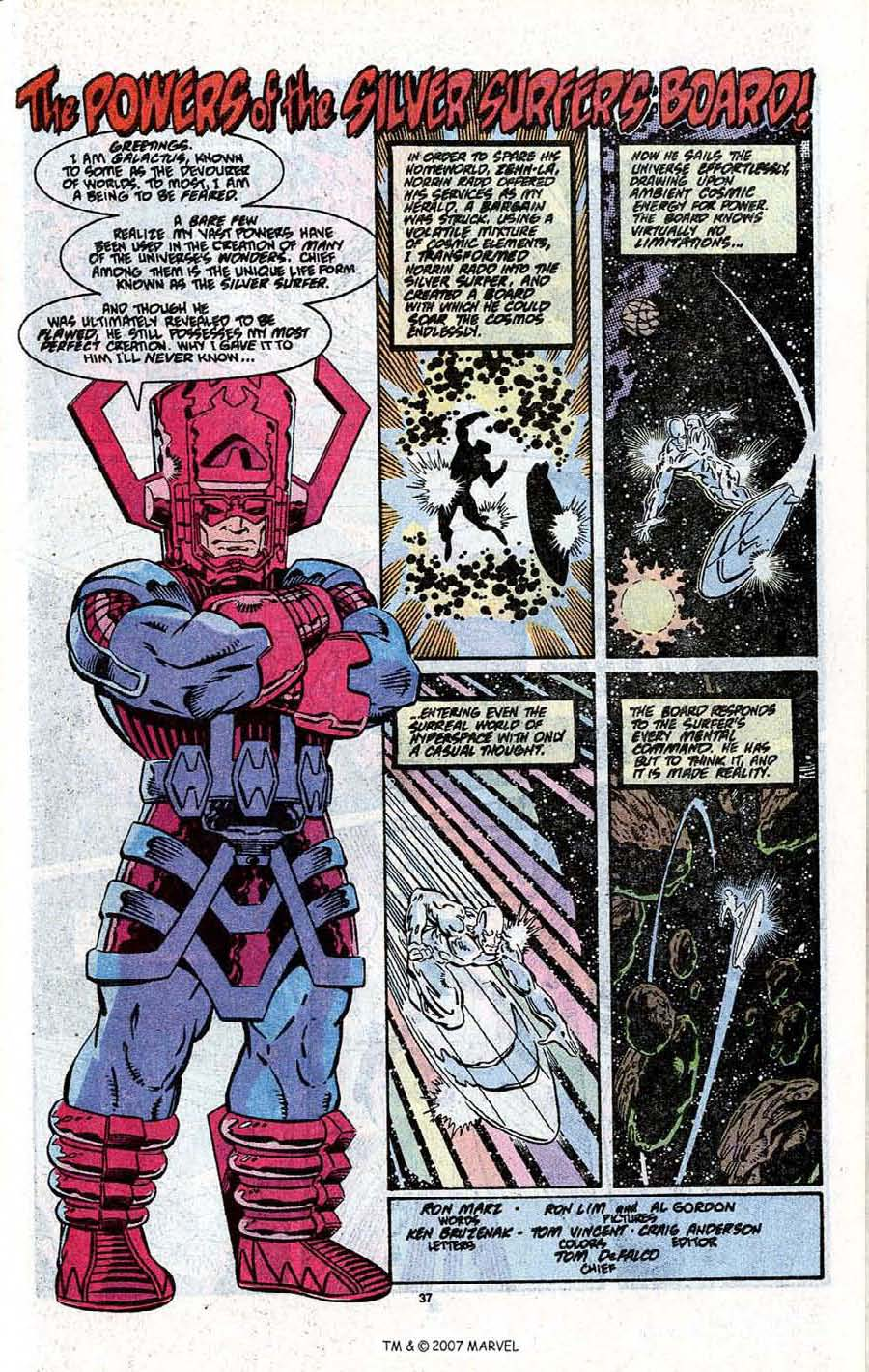 Read online Silver Surfer (1987) comic -  Issue # _Annual 3 - 39