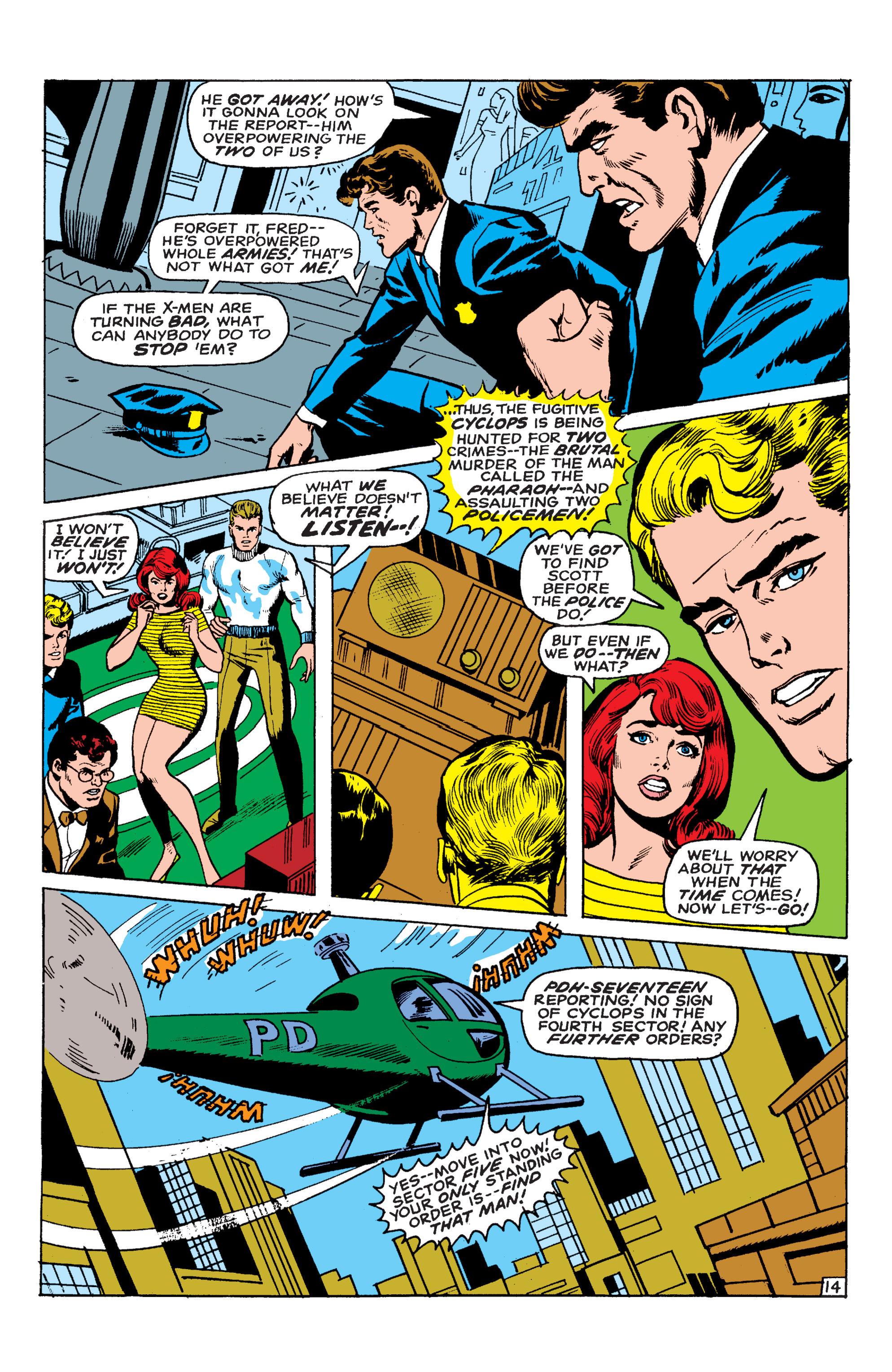Read online Uncanny X-Men (1963) comic -  Issue #54 - 15
