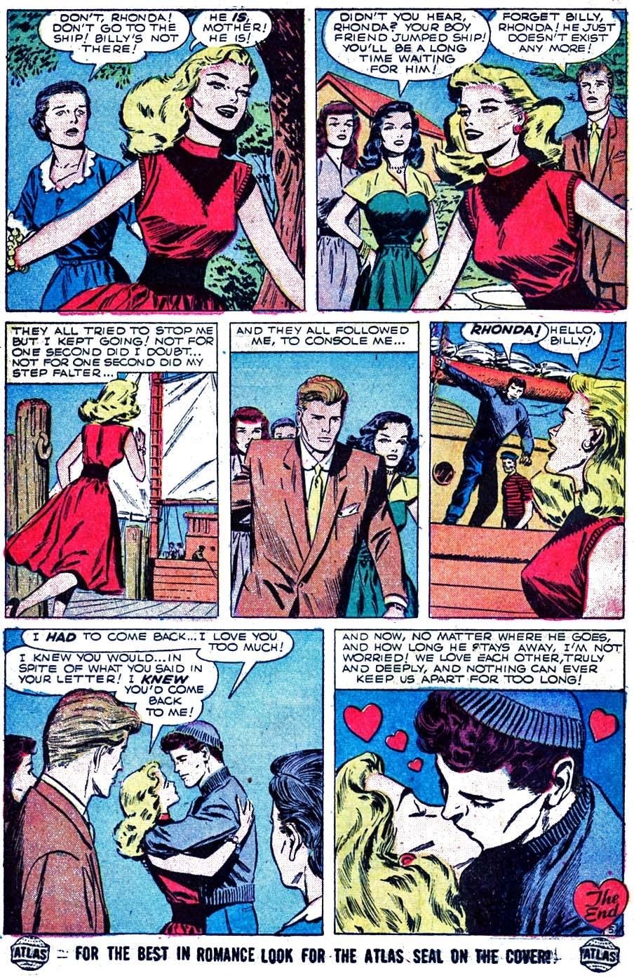Love Romances (1949) issue 52 - Page 24
