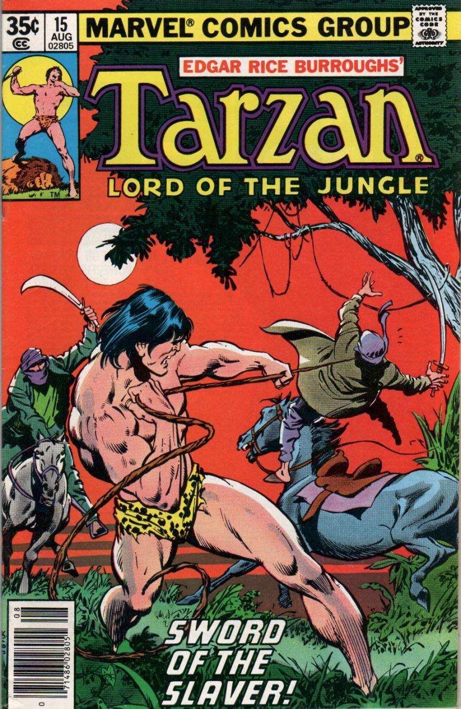 Tarzan (1977) issue 15 - Page 1