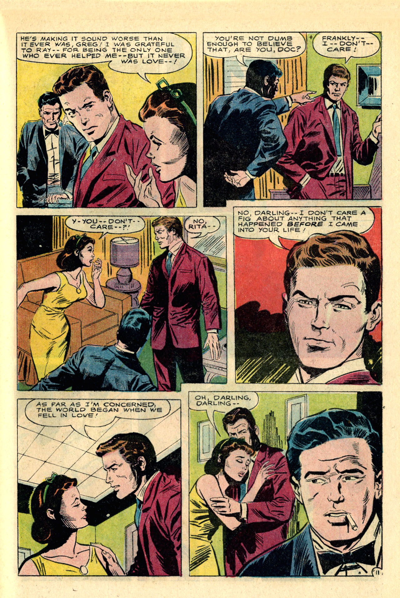 Read online Secret Hearts comic -  Issue #118 - 29