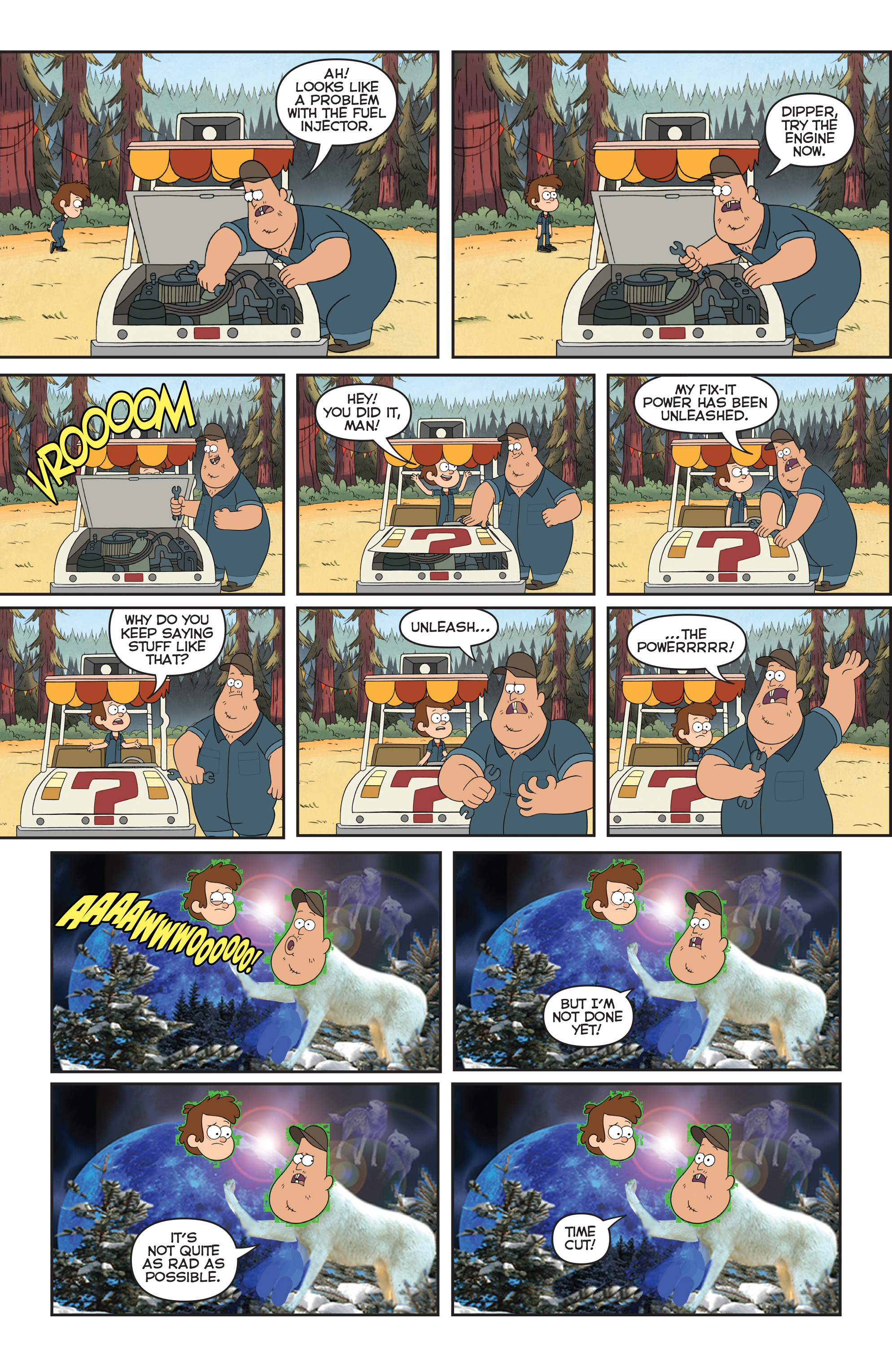 Read online Disney Gravity Falls Shorts Cinestory Comic comic -  Issue #2 - 26
