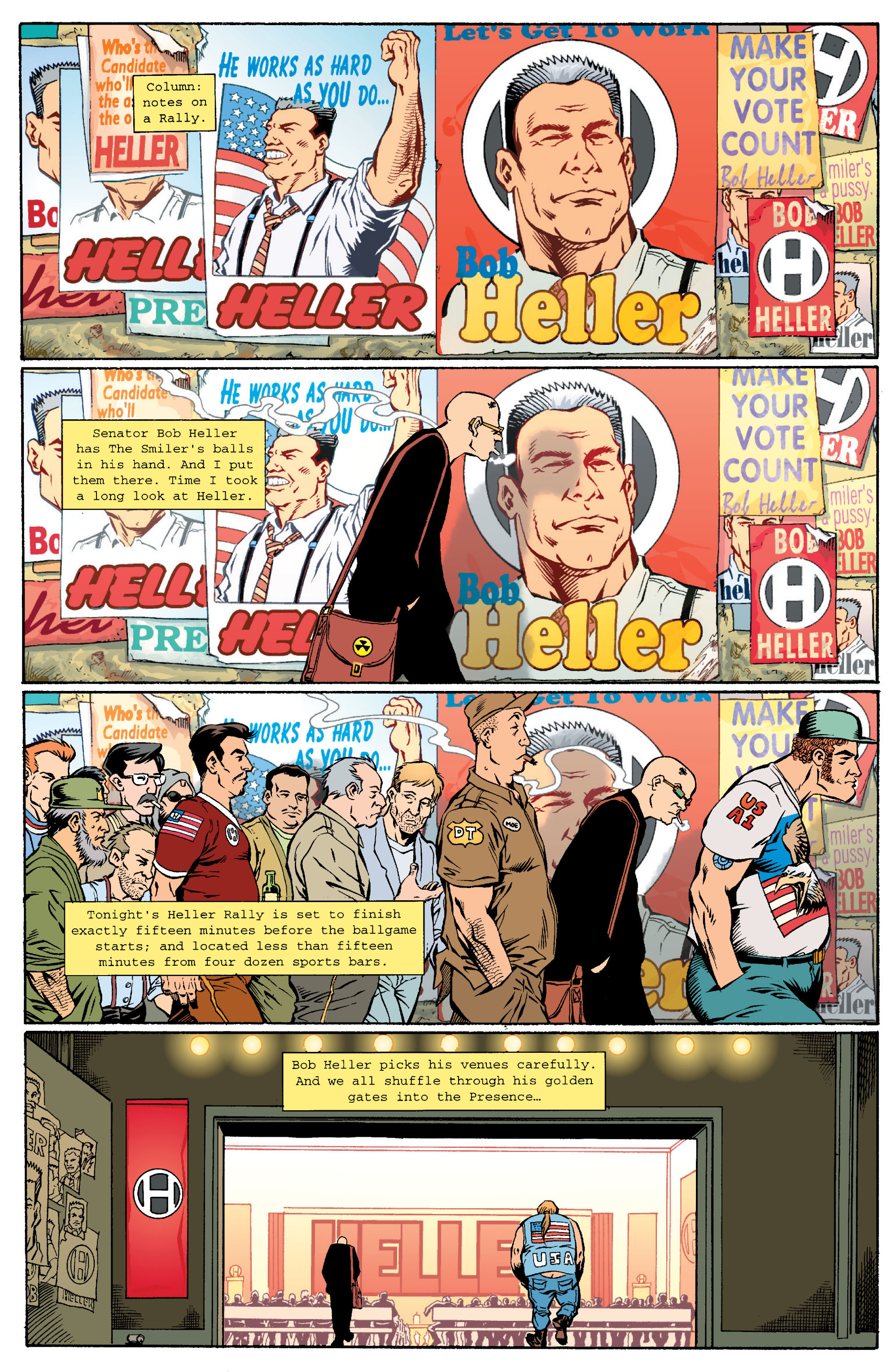 Read online Transmetropolitan comic -  Issue #15 - 10
