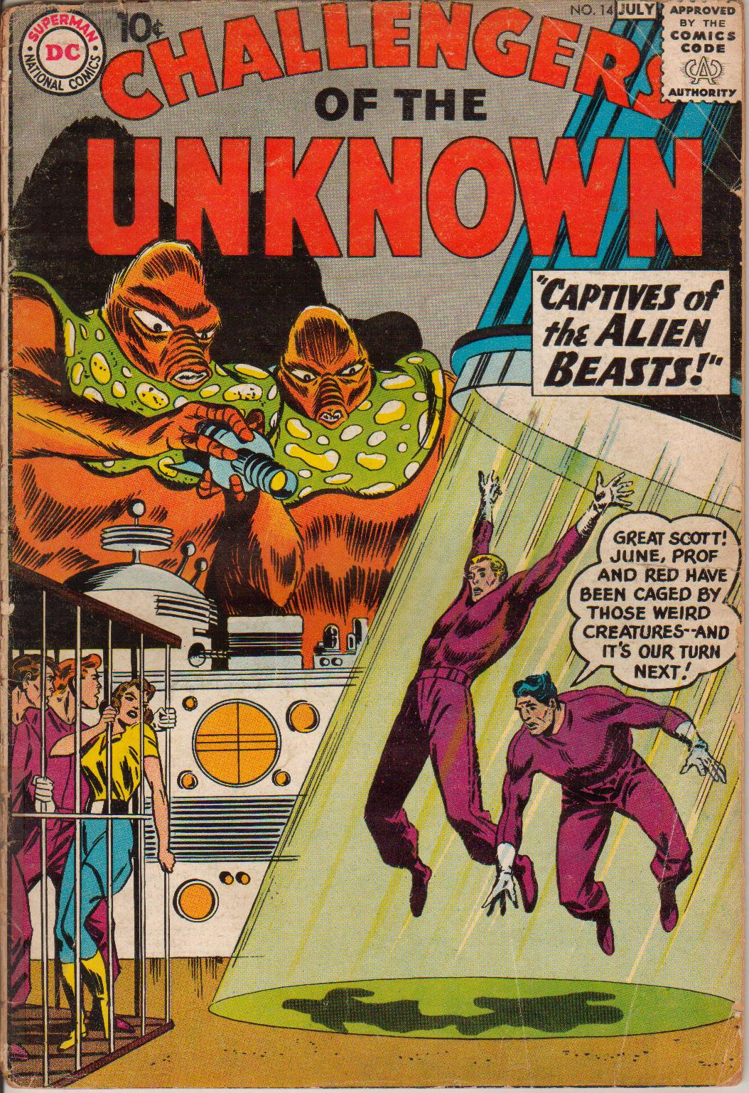 Challengers of the Unknown (1958) 14 Page 1