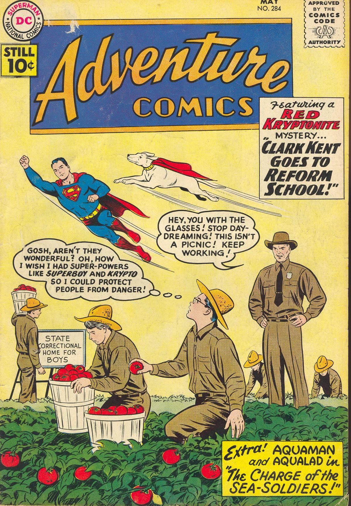 Read online Adventure Comics (1938) comic -  Issue #284 - 1