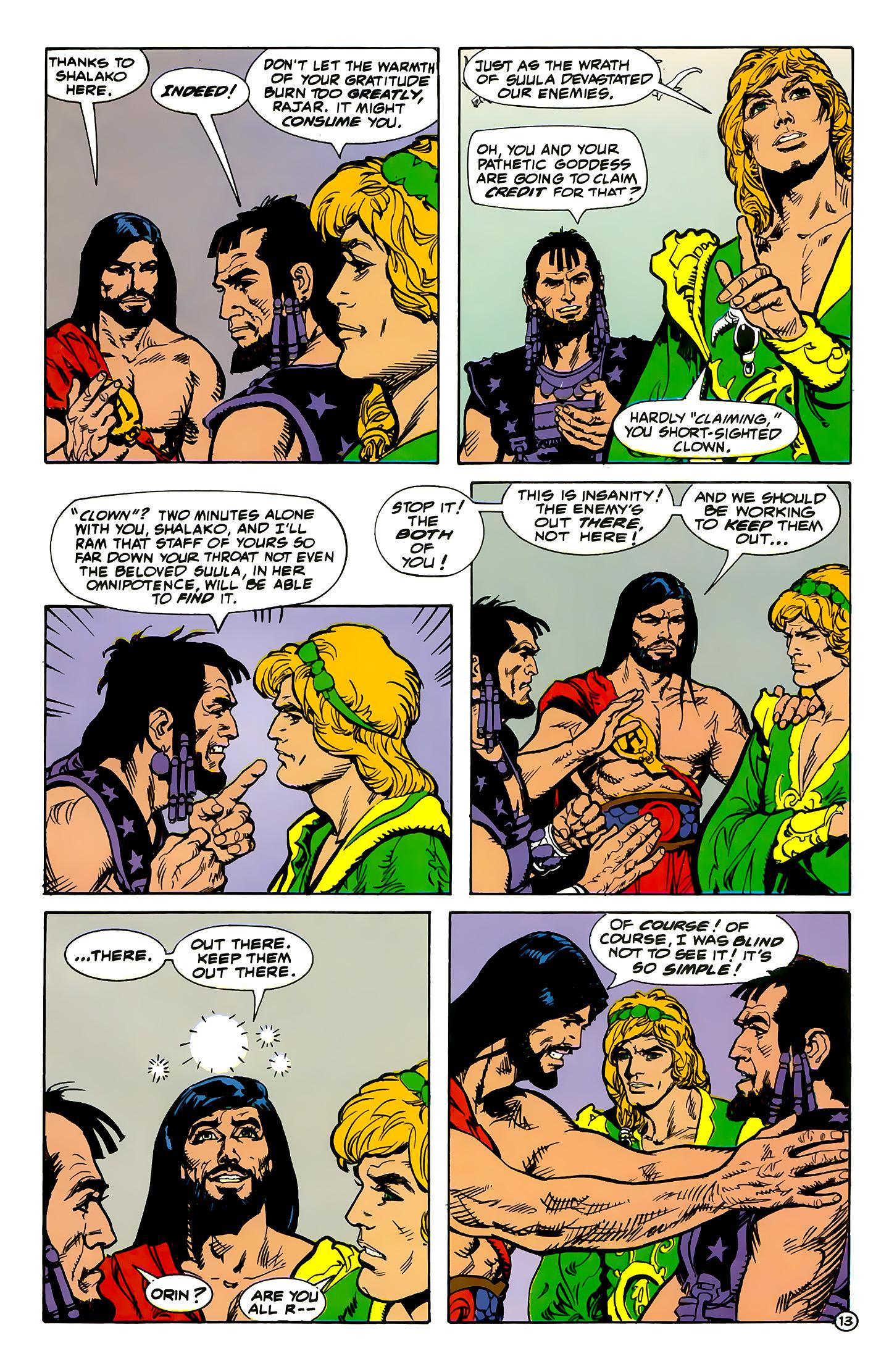 Read online Atlantis Chronicles comic -  Issue #1 - 13