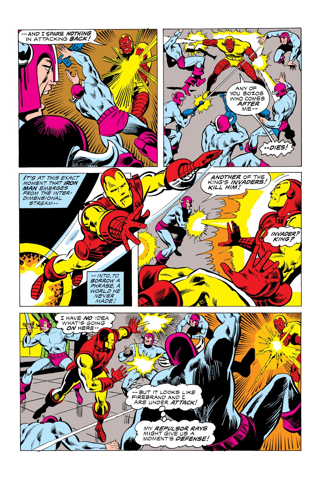 Read online Marvel Masterworks: The Invincible Iron Man comic -  Issue # TPB 10 (Part 3) - 19