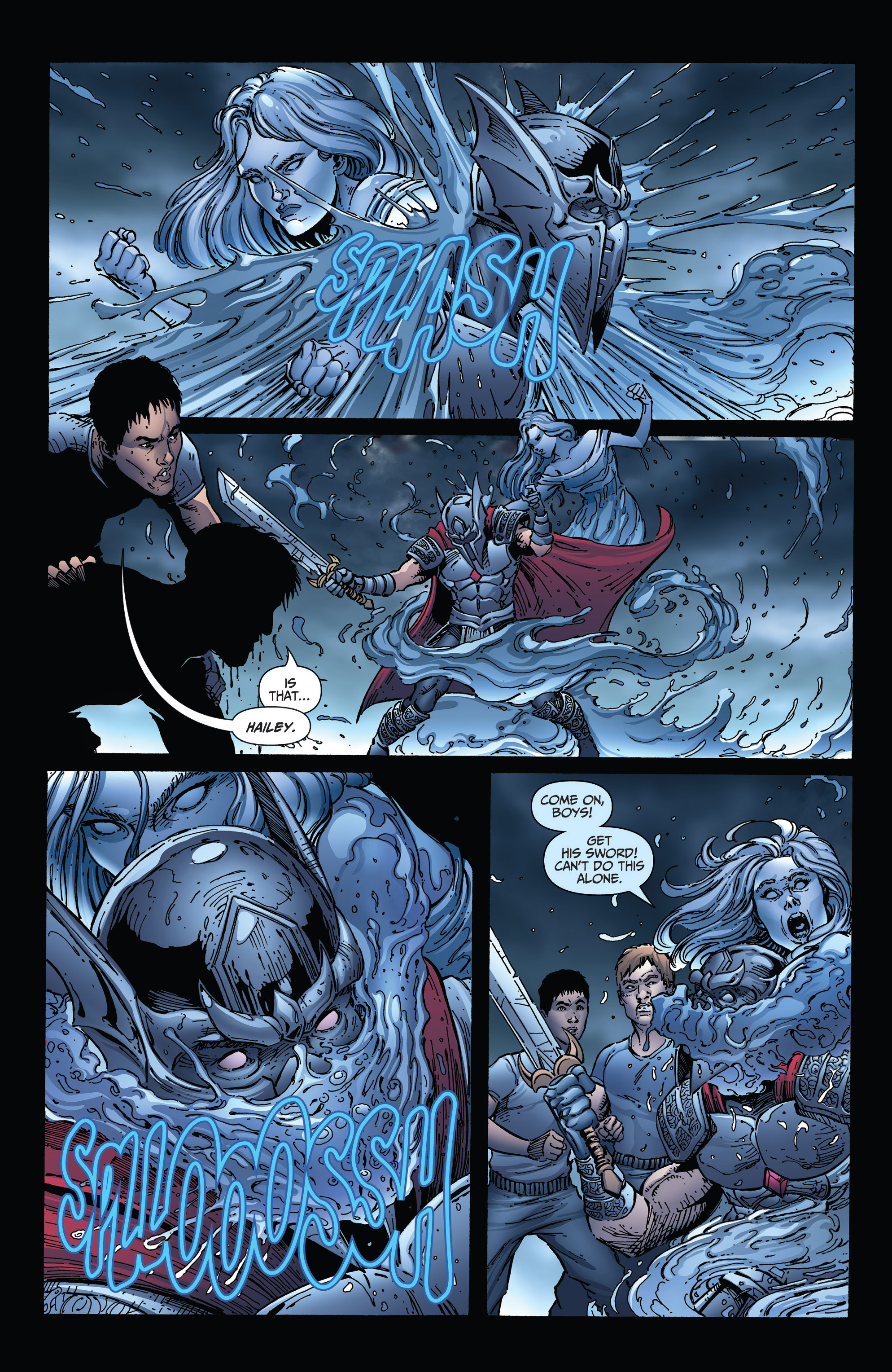 Read online Grimm Fairy Tales: Arcane Acre comic -  Issue # TPB 3 - 109