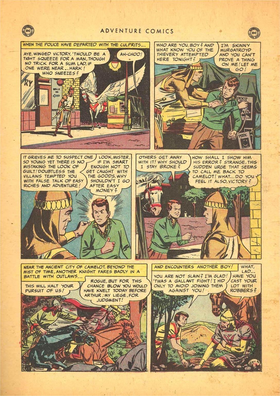 Read online Adventure Comics (1938) comic -  Issue #148 - 33