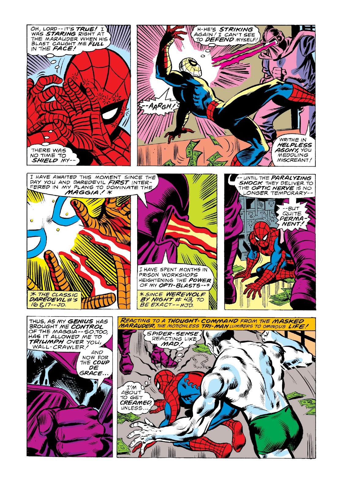 Read online Marvel Masterworks: The Spectacular Spider-Man comic -  Issue # TPB 2 (Part 2) - 91