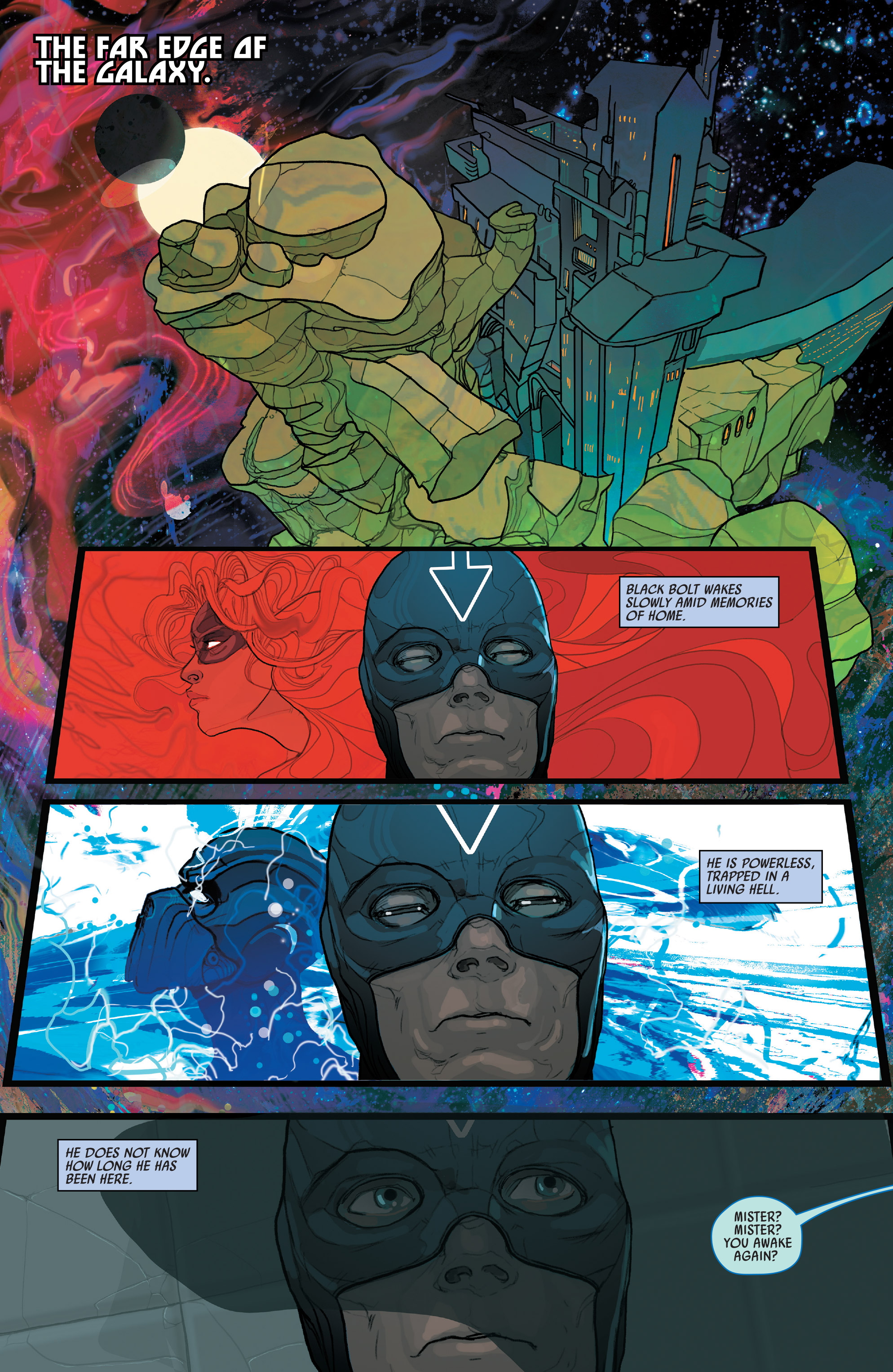 Read online Black Bolt comic -  Issue #2 - 3