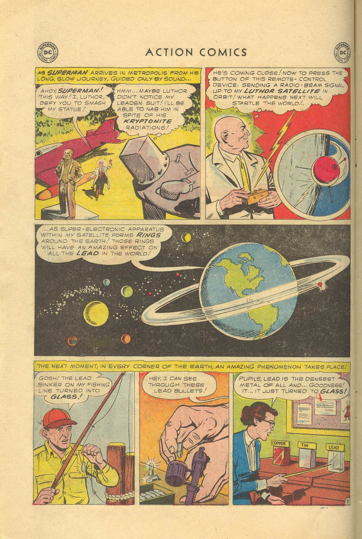 Read online Action Comics (1938) comic -  Issue #249 - 10
