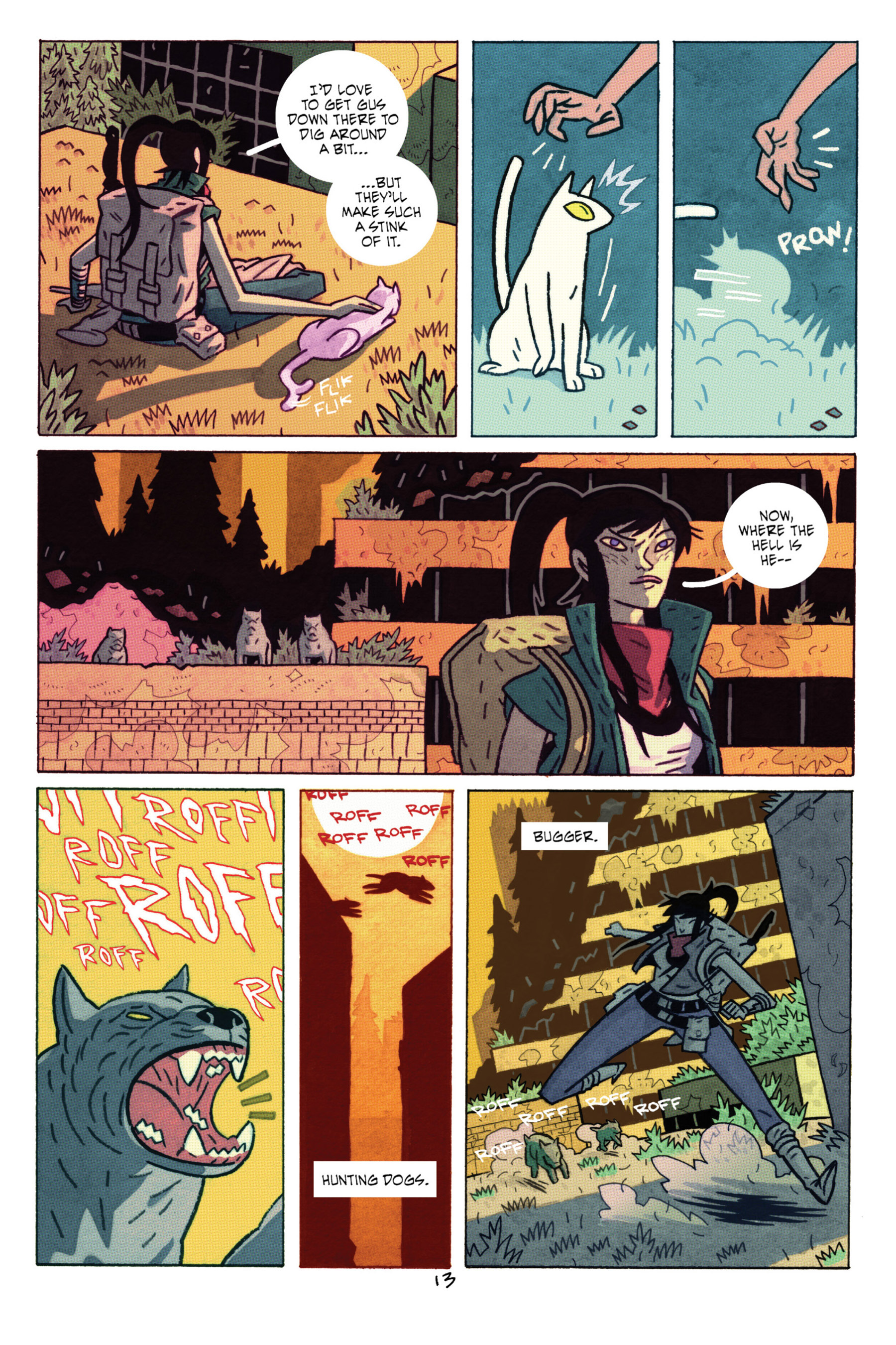 Read online ApocalyptiGirl: An Aria for the End Times comic -  Issue #ApocalyptiGirl: An Aria for the End Times Full - 21