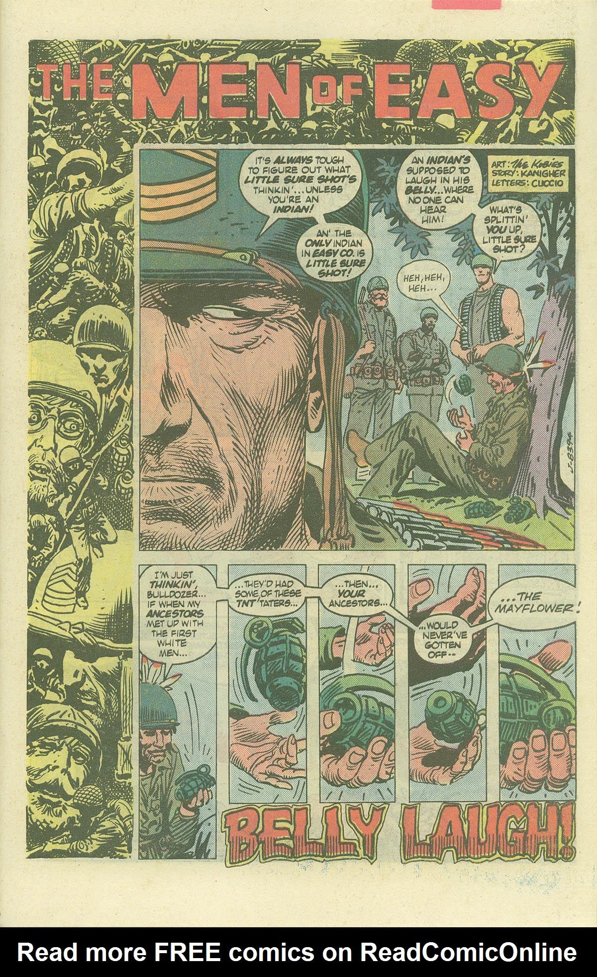 Read online Sgt. Rock comic -  Issue #382 - 28