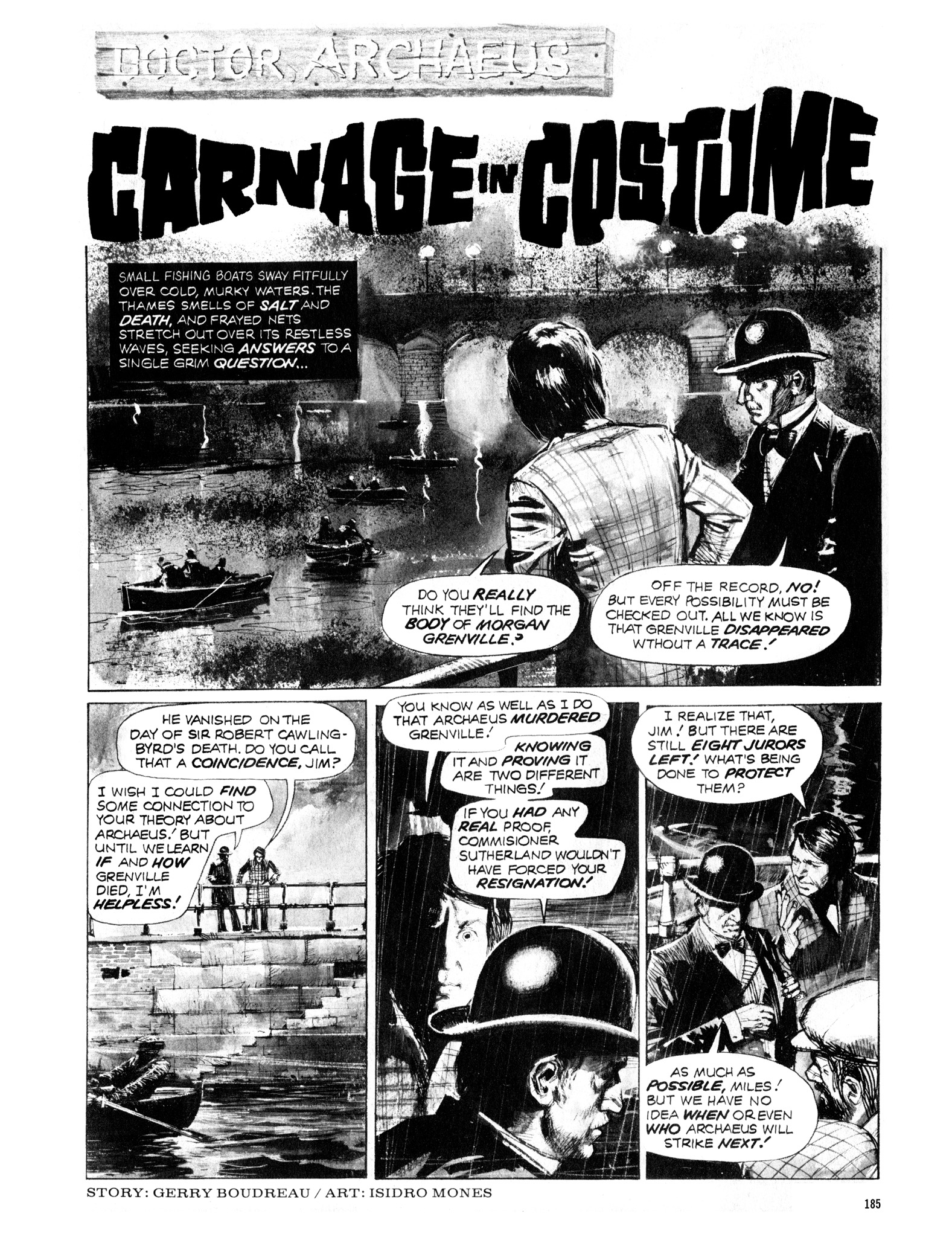 Read online Eerie Archives comic -  Issue # TPB 12 - 186