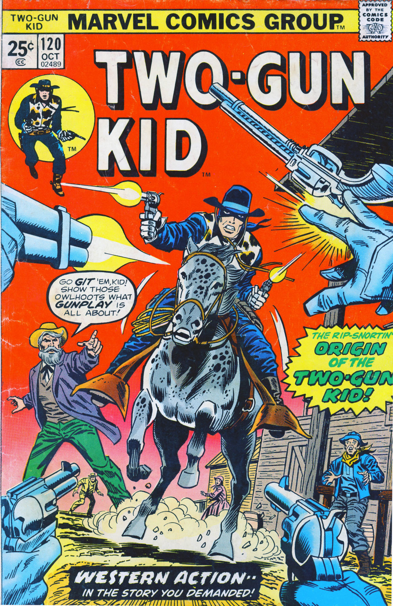 Read online Two-Gun Kid comic -  Issue #120 - 1
