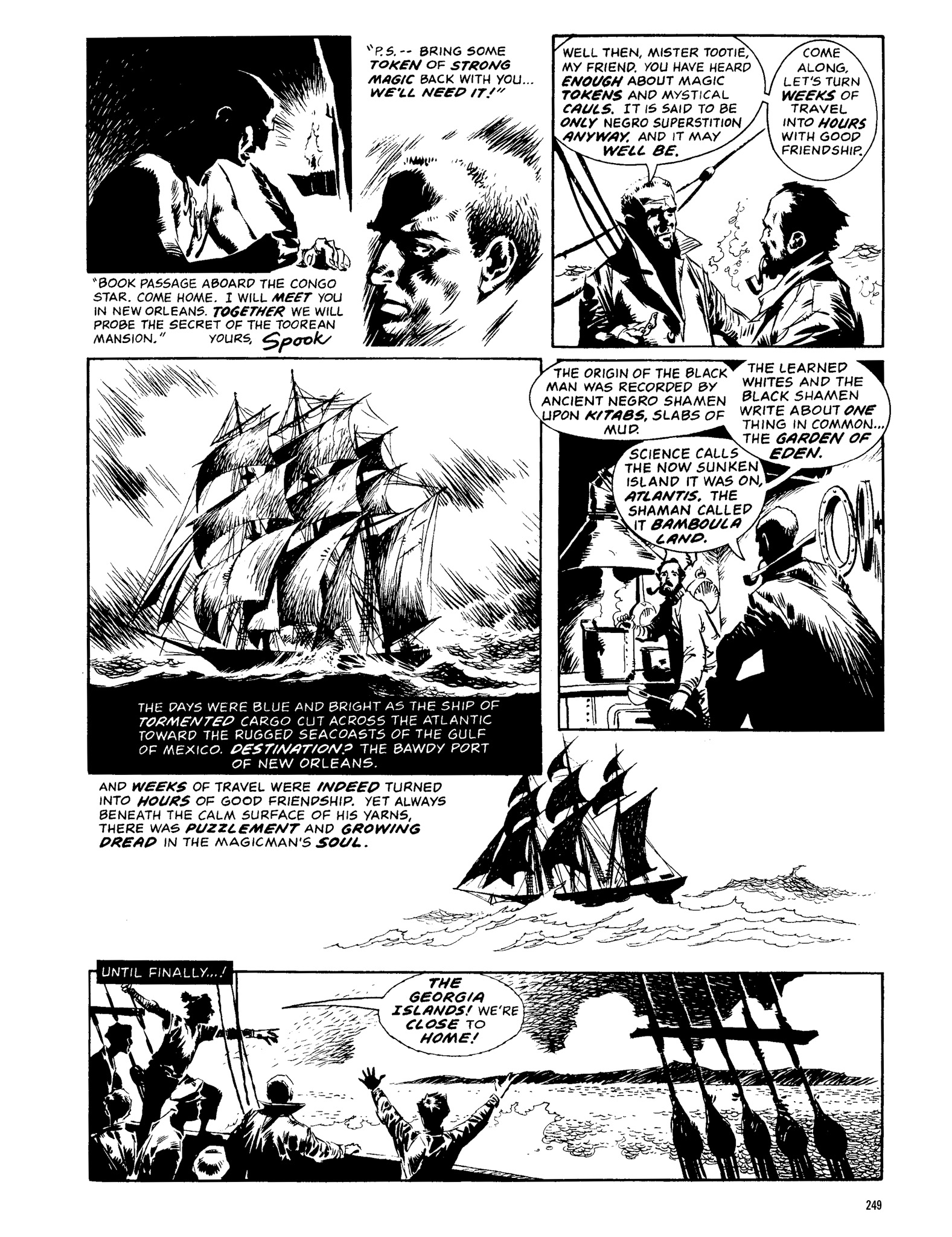 Read online Eerie Archives comic -  Issue # TPB 13 - 250