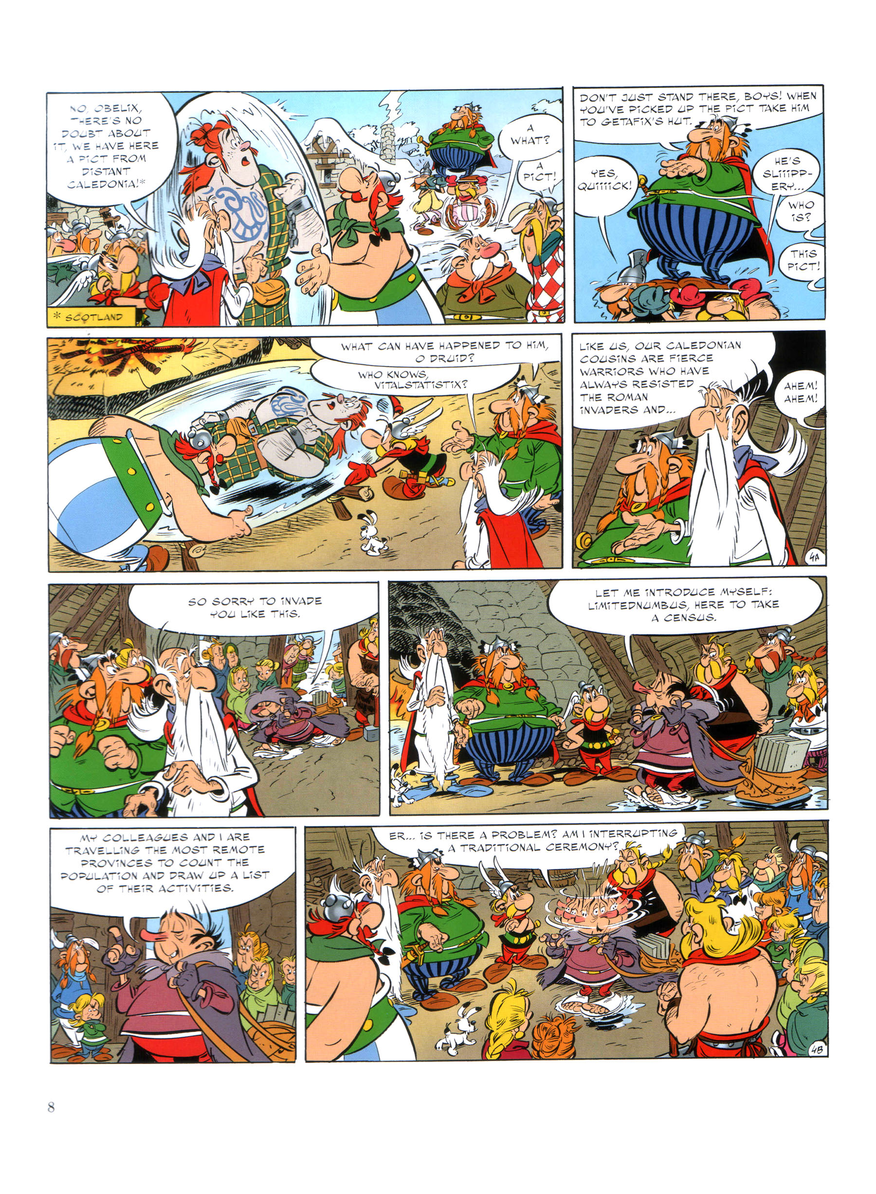 Read online Asterix comic -  Issue #35 - 9