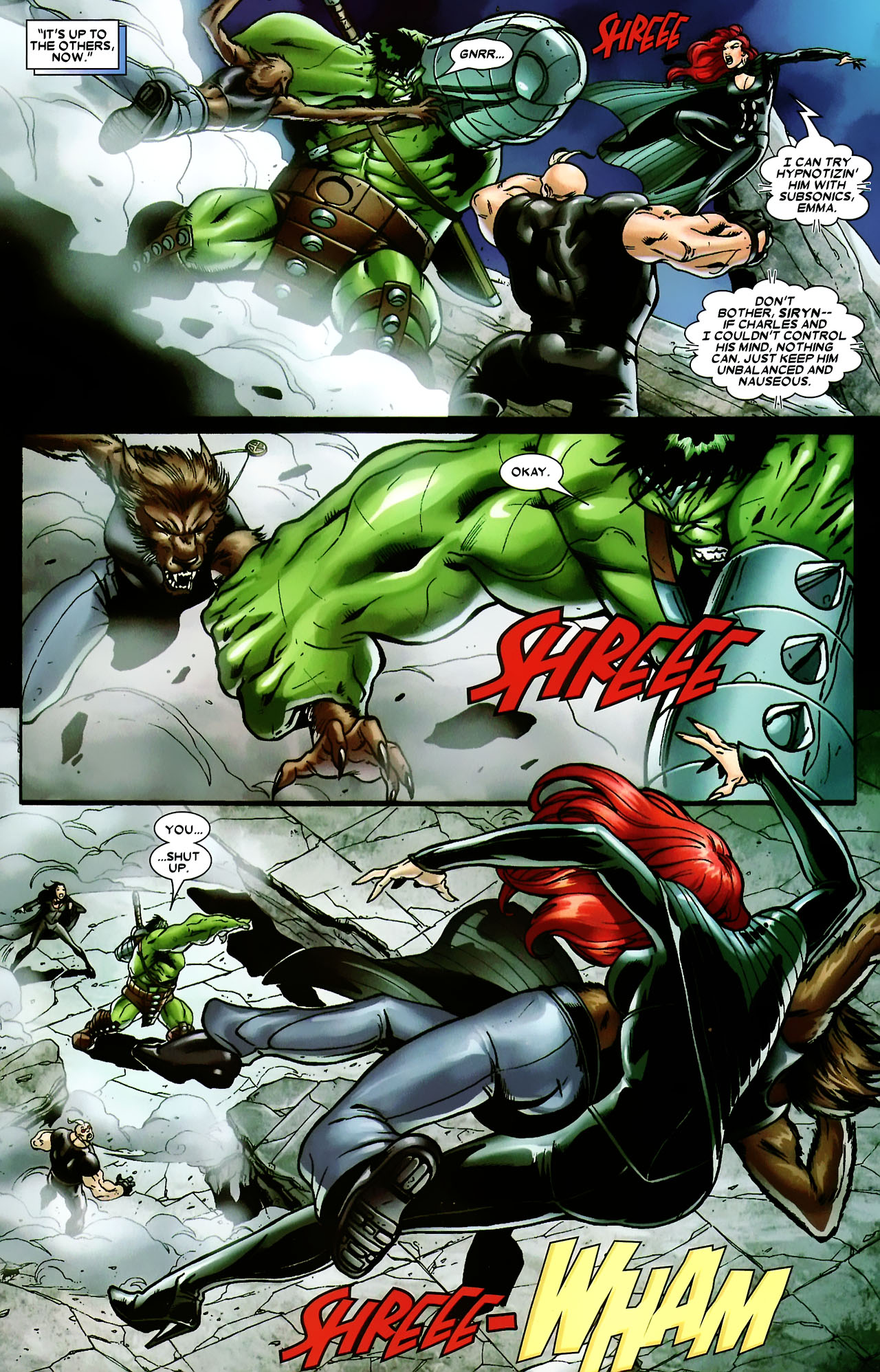 Read online World War Hulk: X-Men comic -  Issue #3 - 5