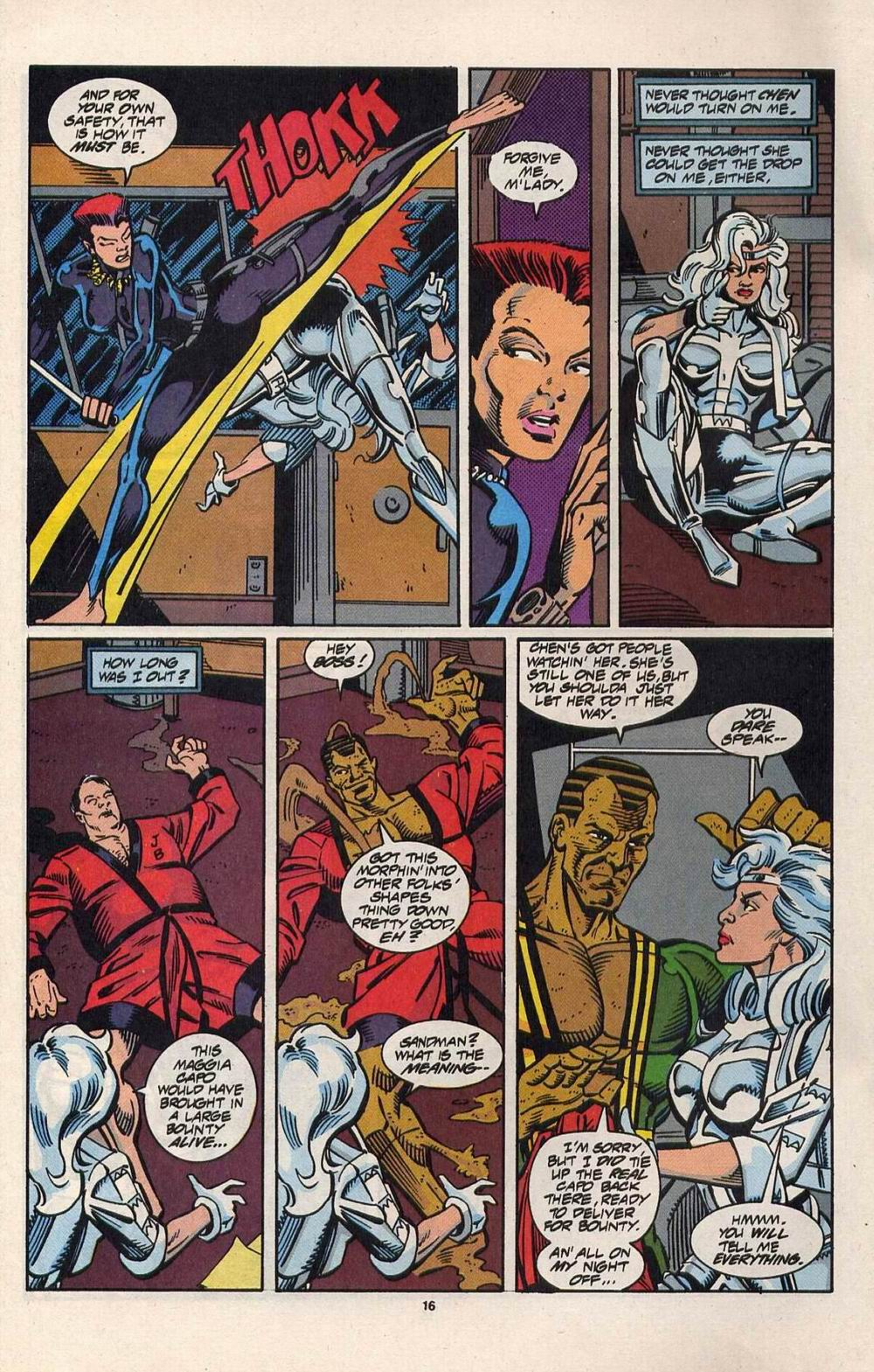 Read online Silver Sable and the Wild Pack comic -  Issue #28 - 13
