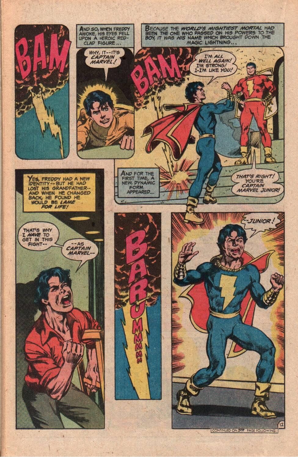 Read online Shazam! (1973) comic -  Issue #34 - 22