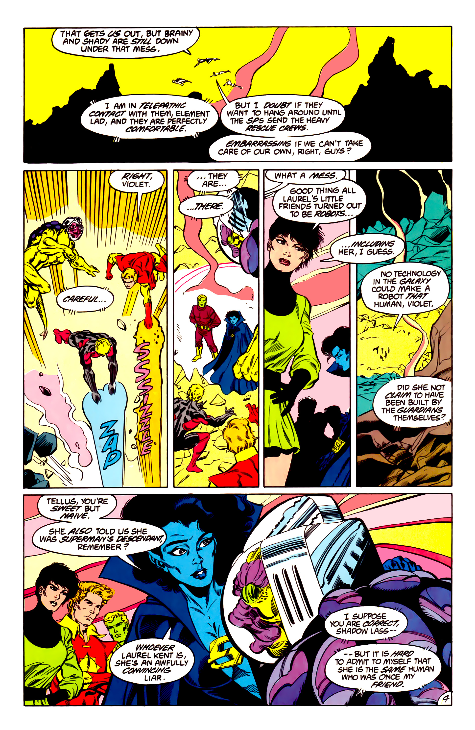 Legion of Super-Heroes (1984) 43 Page 4
