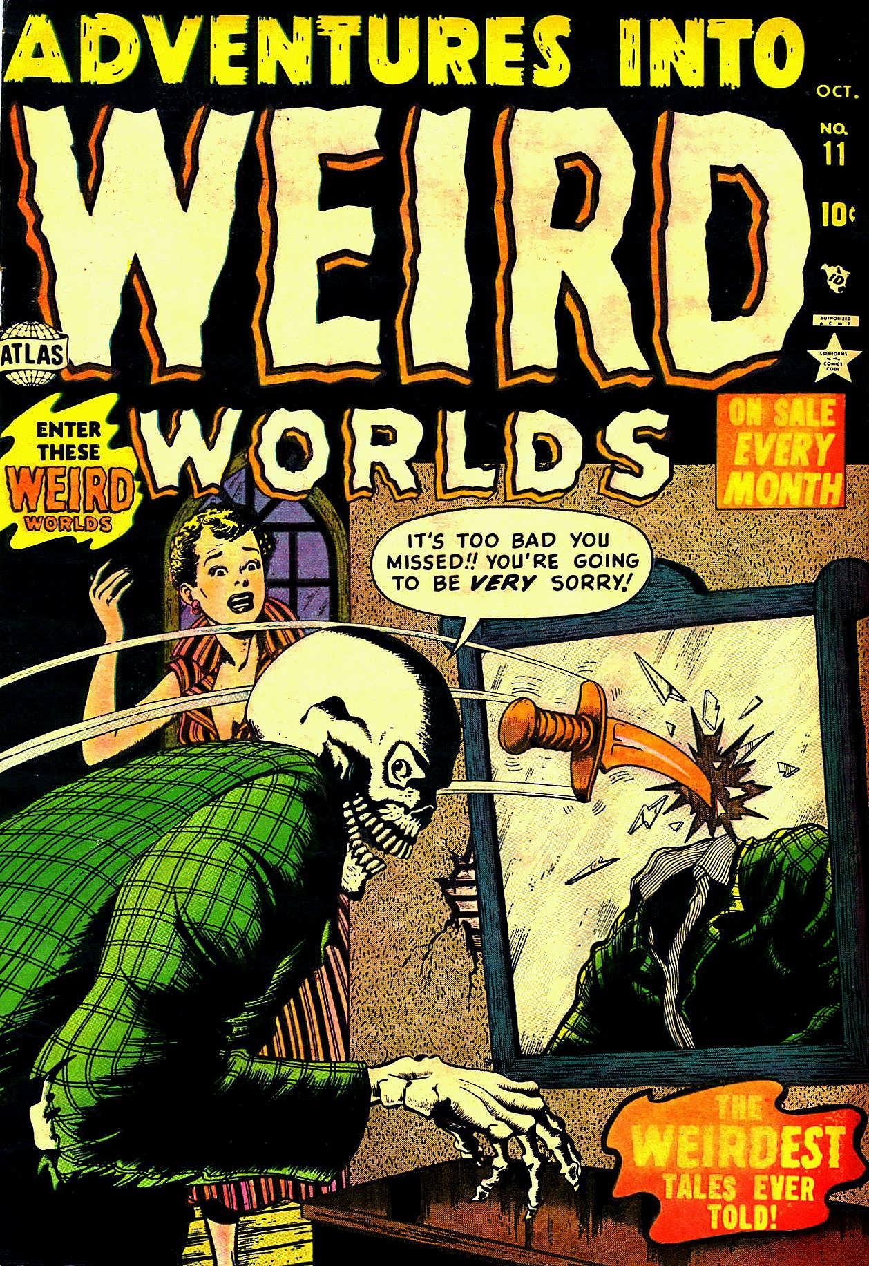 Adventures into Weird Worlds 11 Page 1