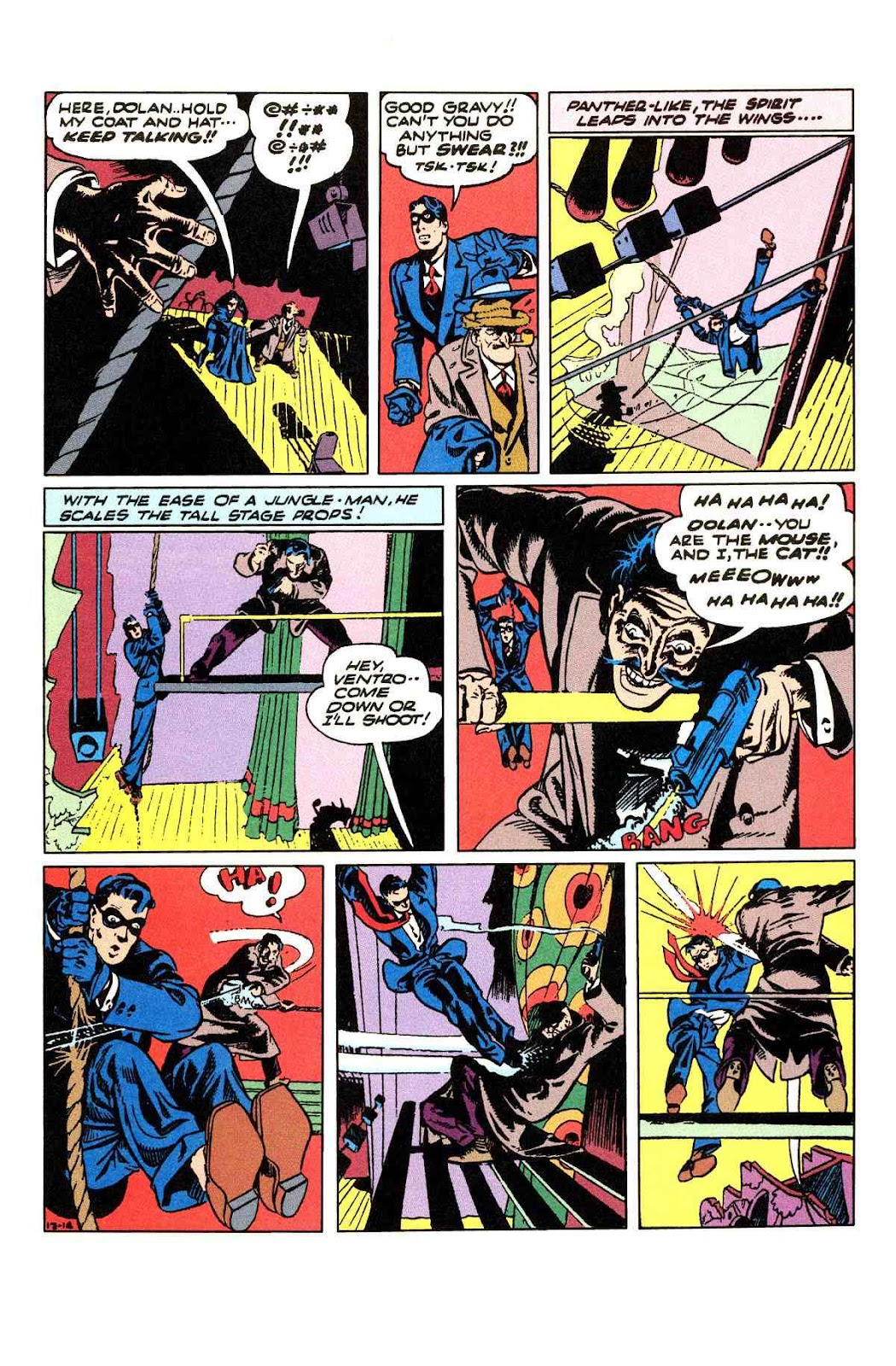 Read online Will Eisner's The Spirit Archives comic -  Issue # TPB 3 (Part 2) - 92
