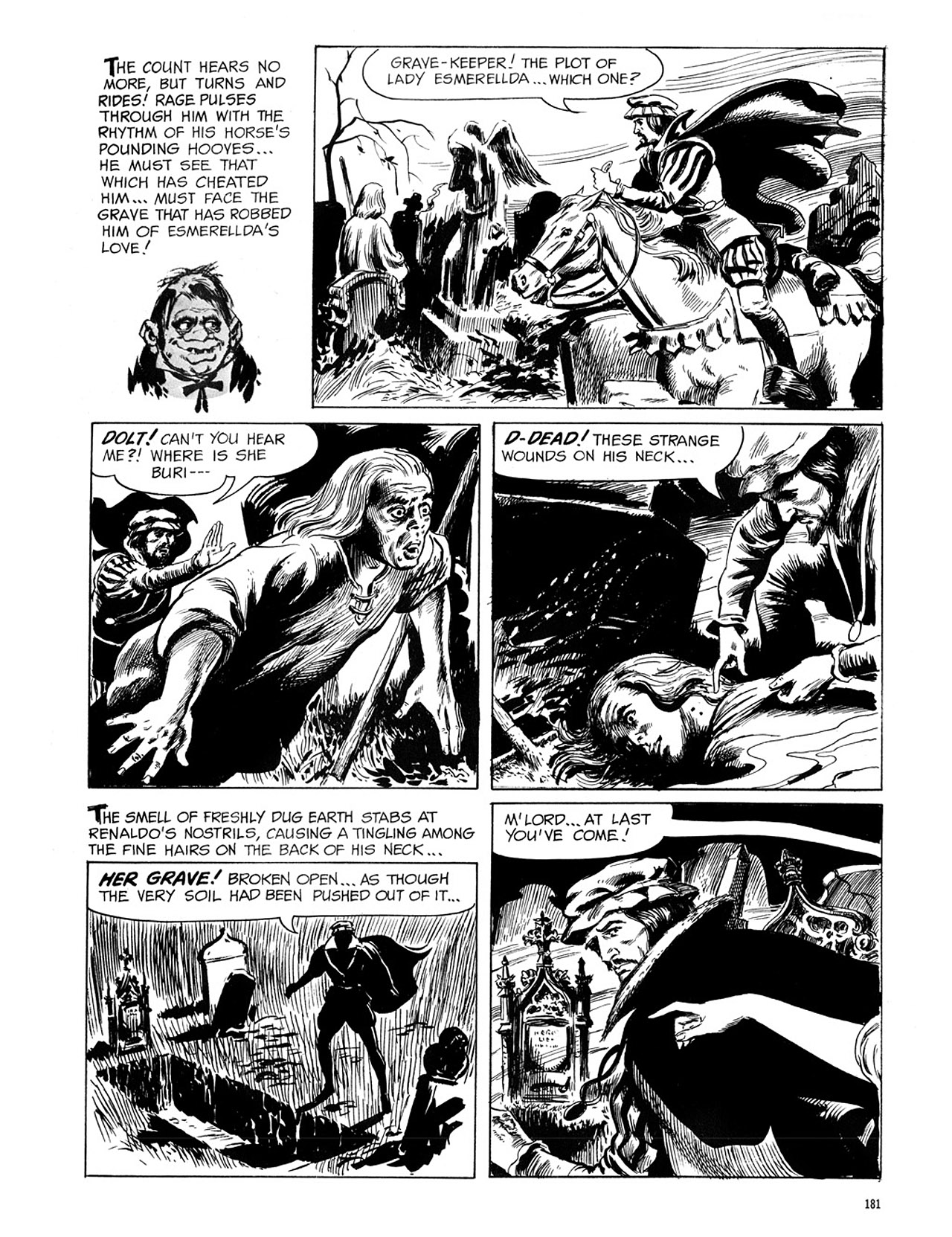 Read online Eerie Archives comic -  Issue # TPB 1 - 182