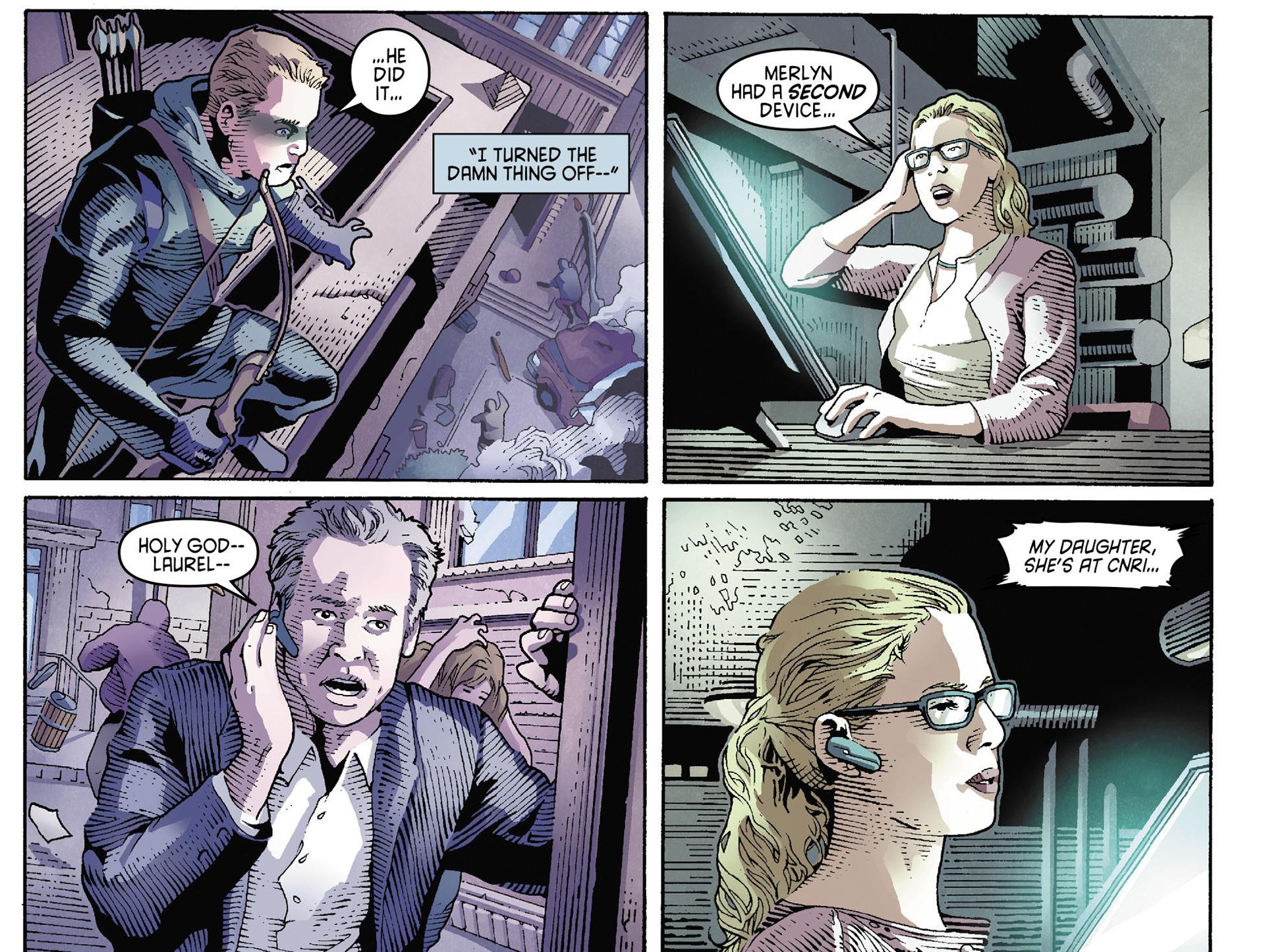 Read online Arrow [II] comic -  Issue #35 - 4