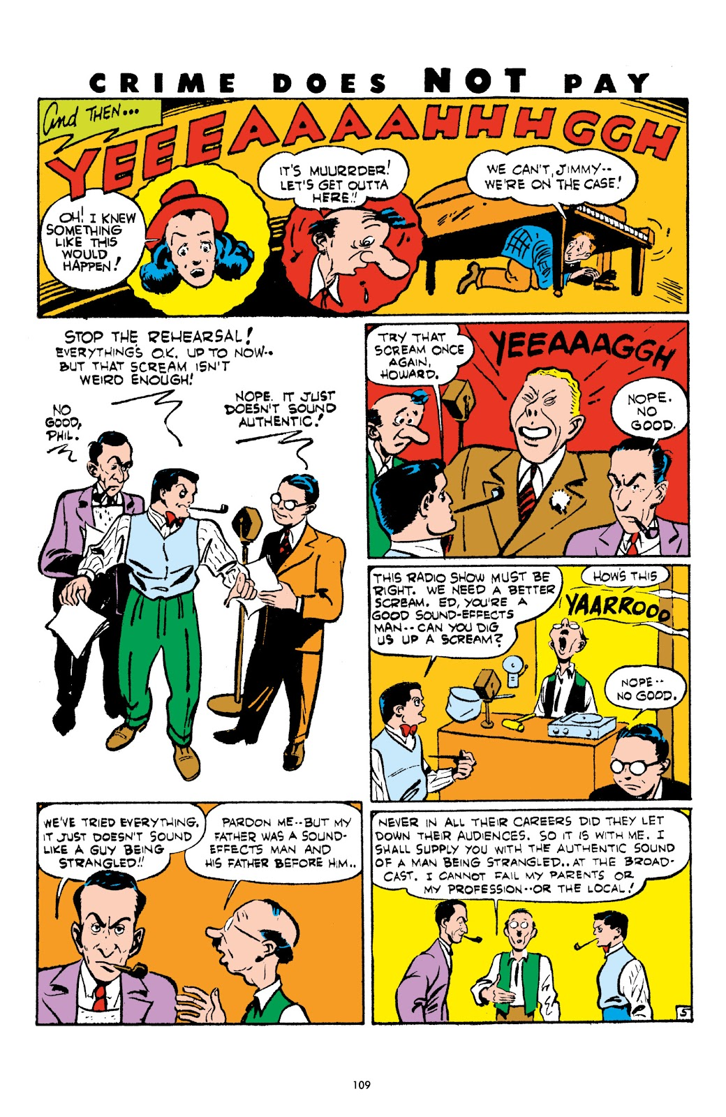 Read online Crime Does Not Pay Archives comic -  Issue # TPB 4 (Part 2) - 9