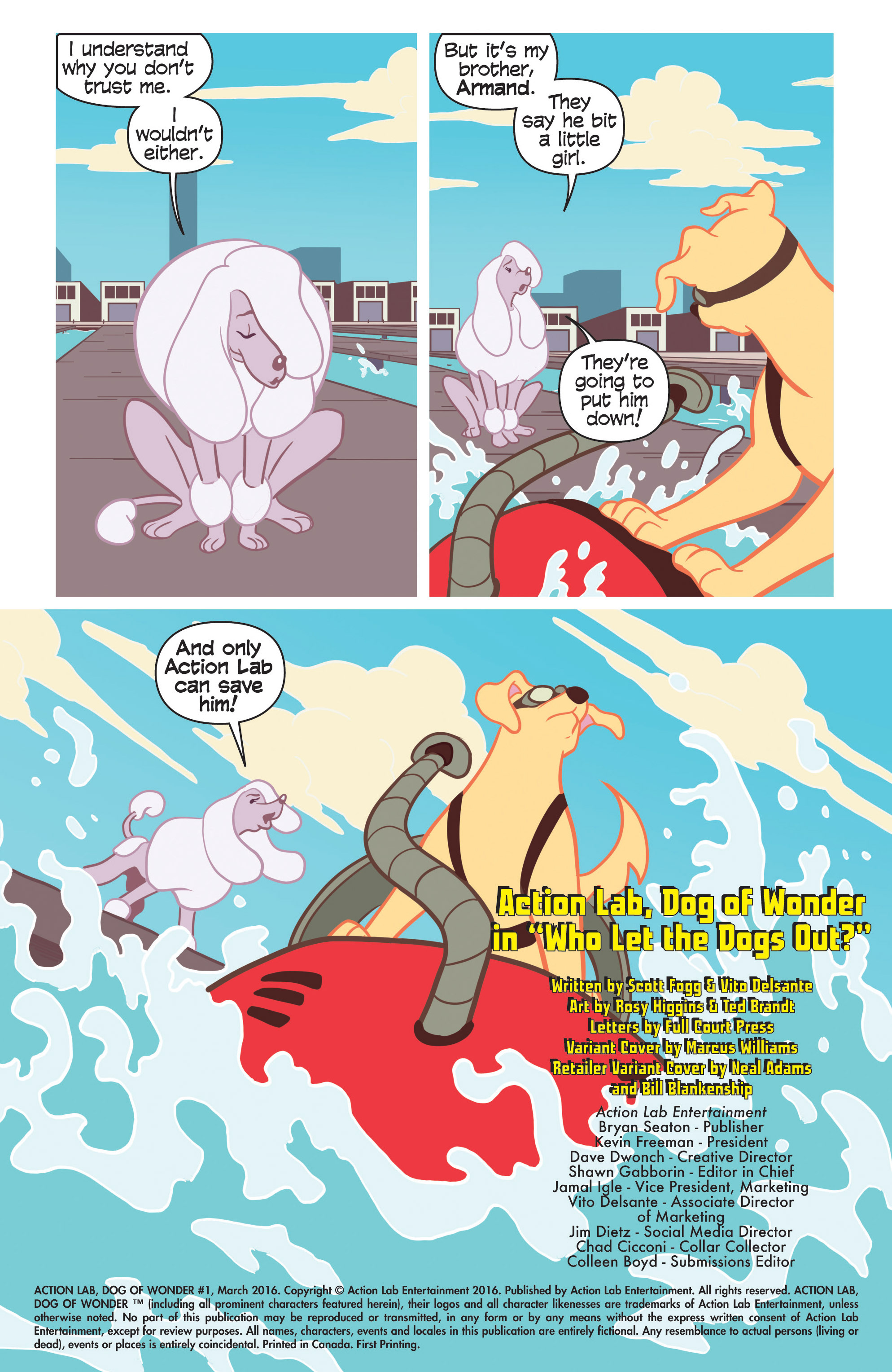 Read online Action Lab, Dog of Wonder comic -  Issue #1 - 23