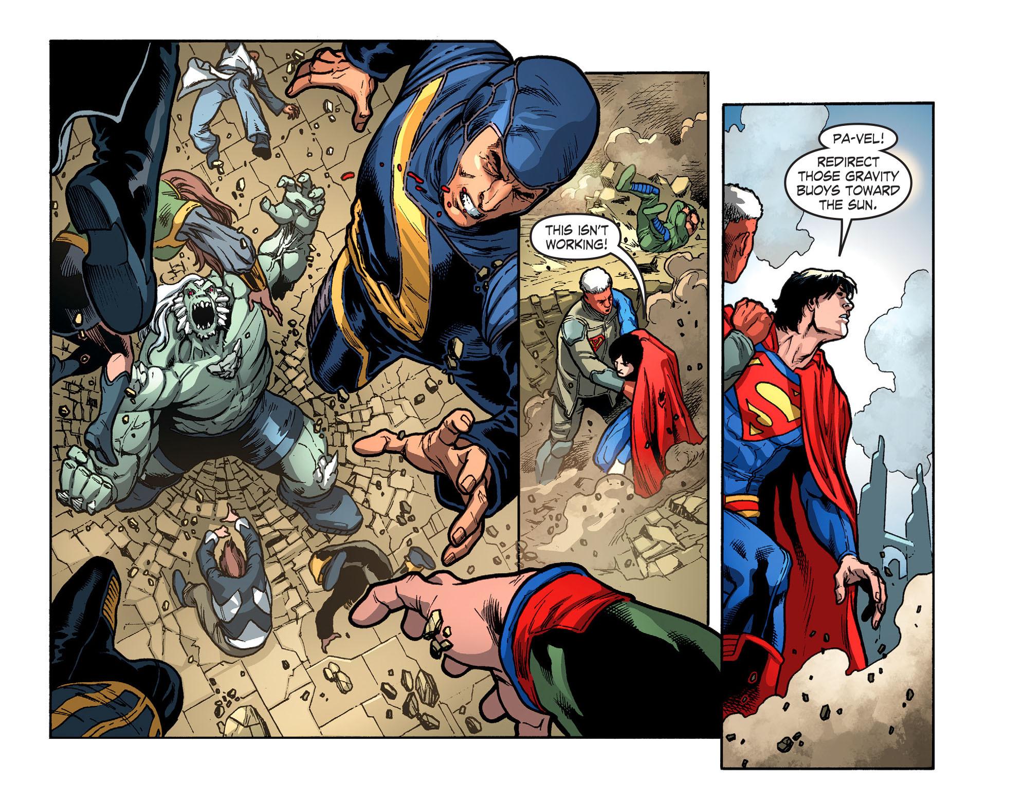 Read online Smallville: Season 11 comic -  Issue #52 - 19