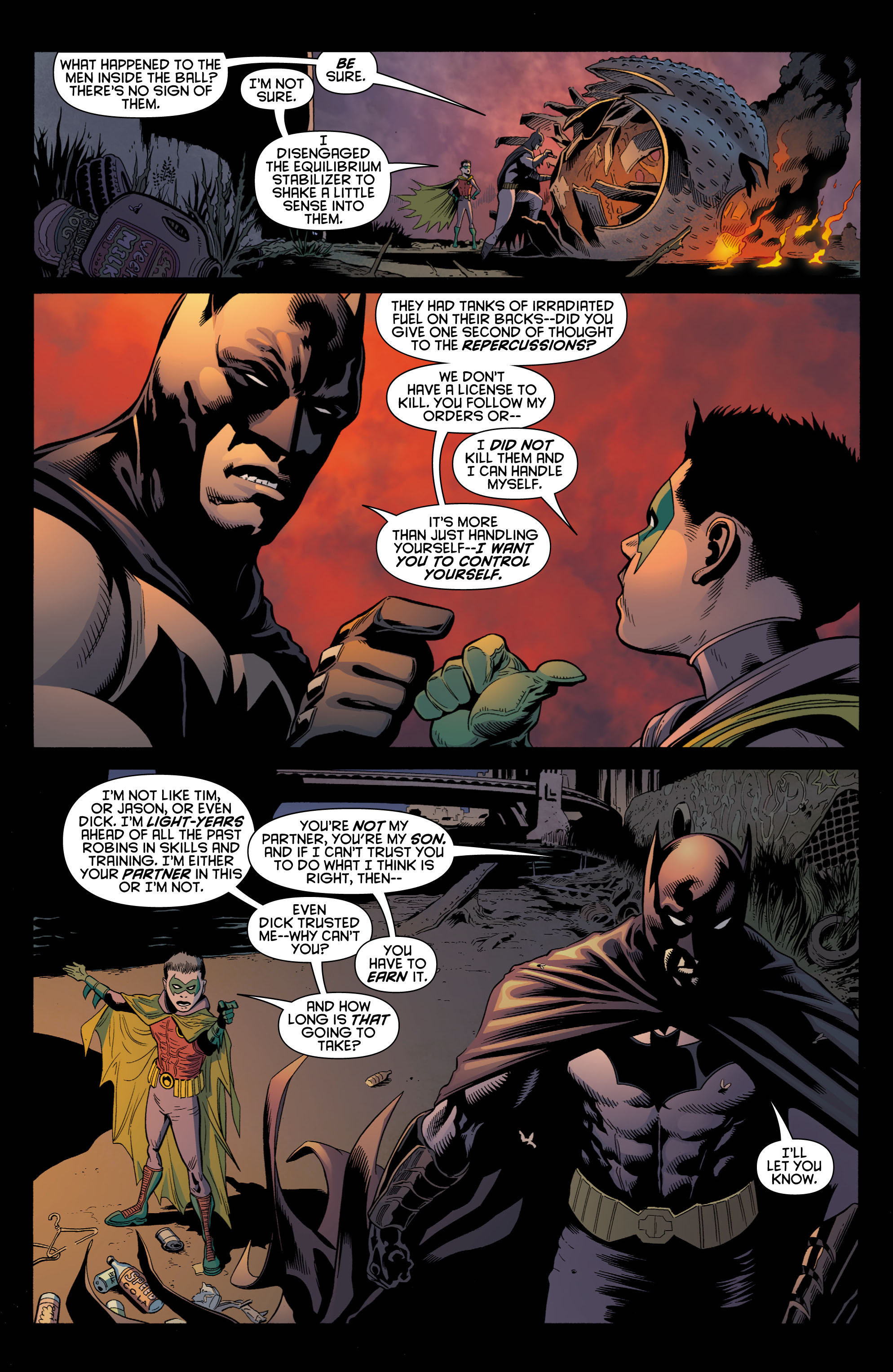 Read online Batman and Robin (2011) comic -  Issue # TPB 1 - 24