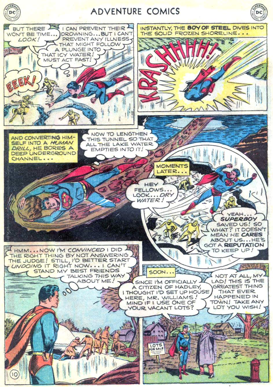 Read online Adventure Comics (1938) comic -  Issue #166 - 11