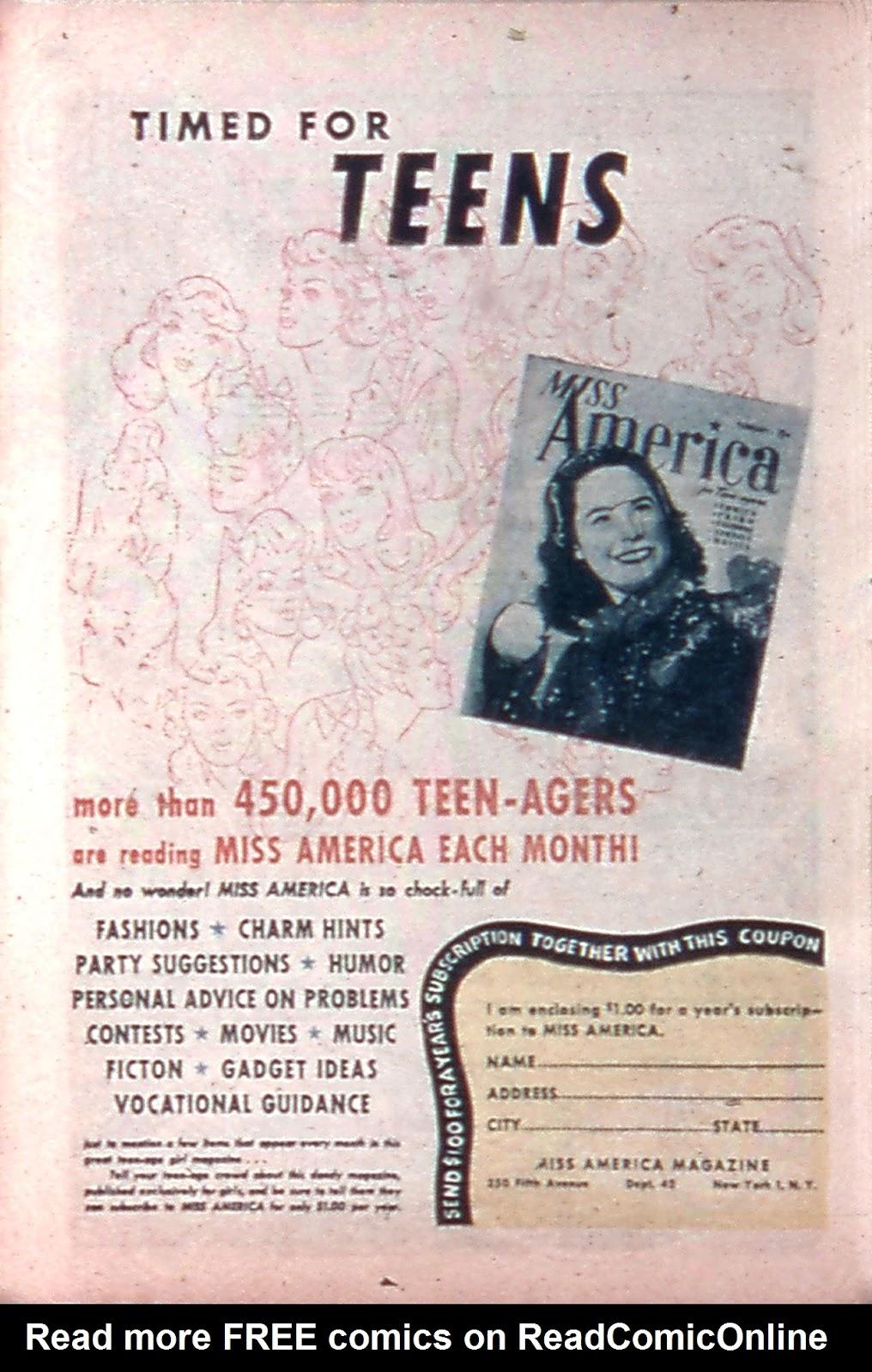 Read online Mystic Comics (1944) comic -  Issue #4 - 24