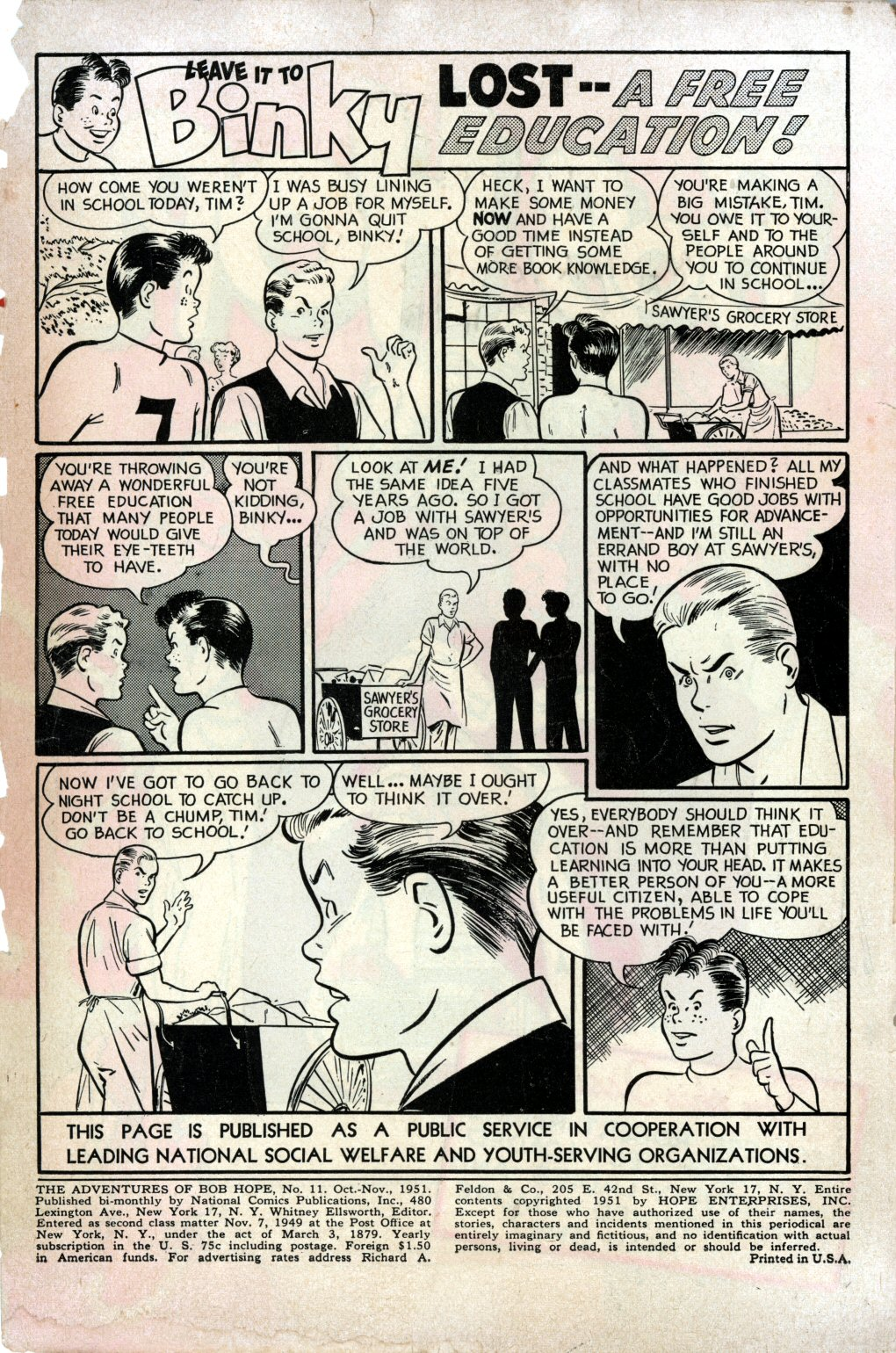 The Adventures of Bob Hope issue 11 - Page 2