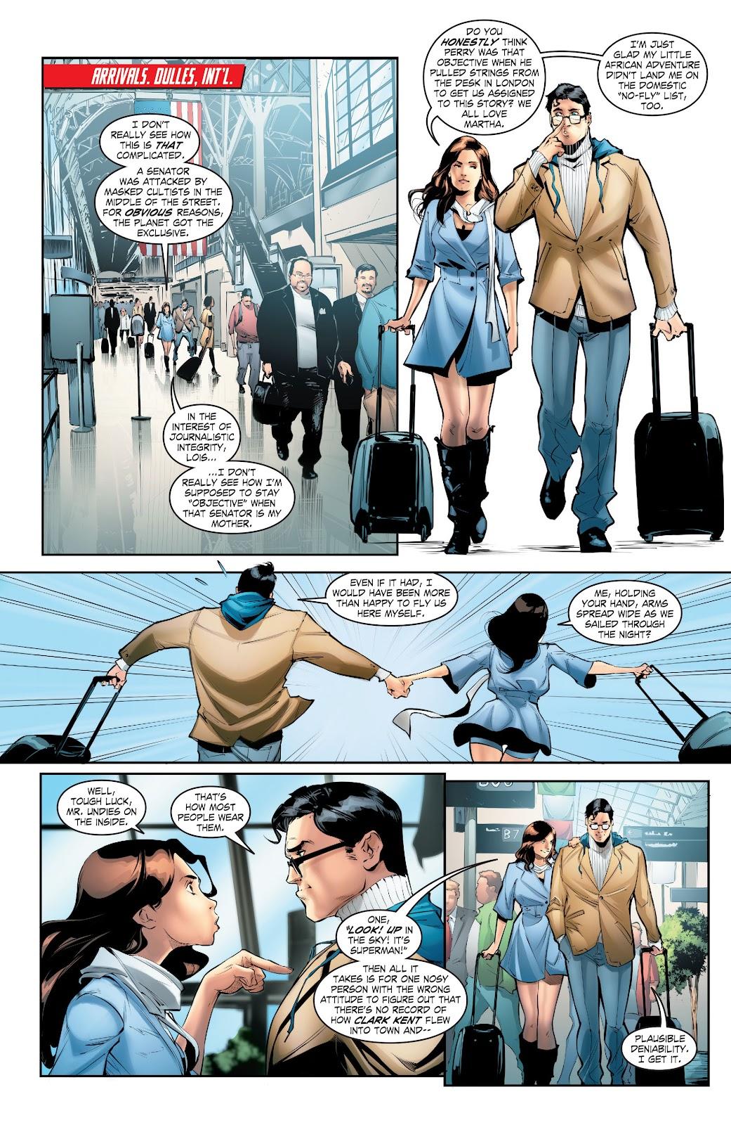 Read online Smallville Season 11 [II] comic -  Issue # TPB 5 - 17