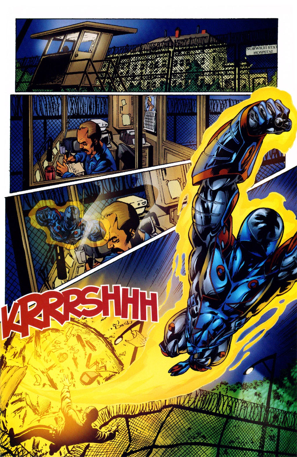 Read online ArmorX comic -  Issue #2 - 10