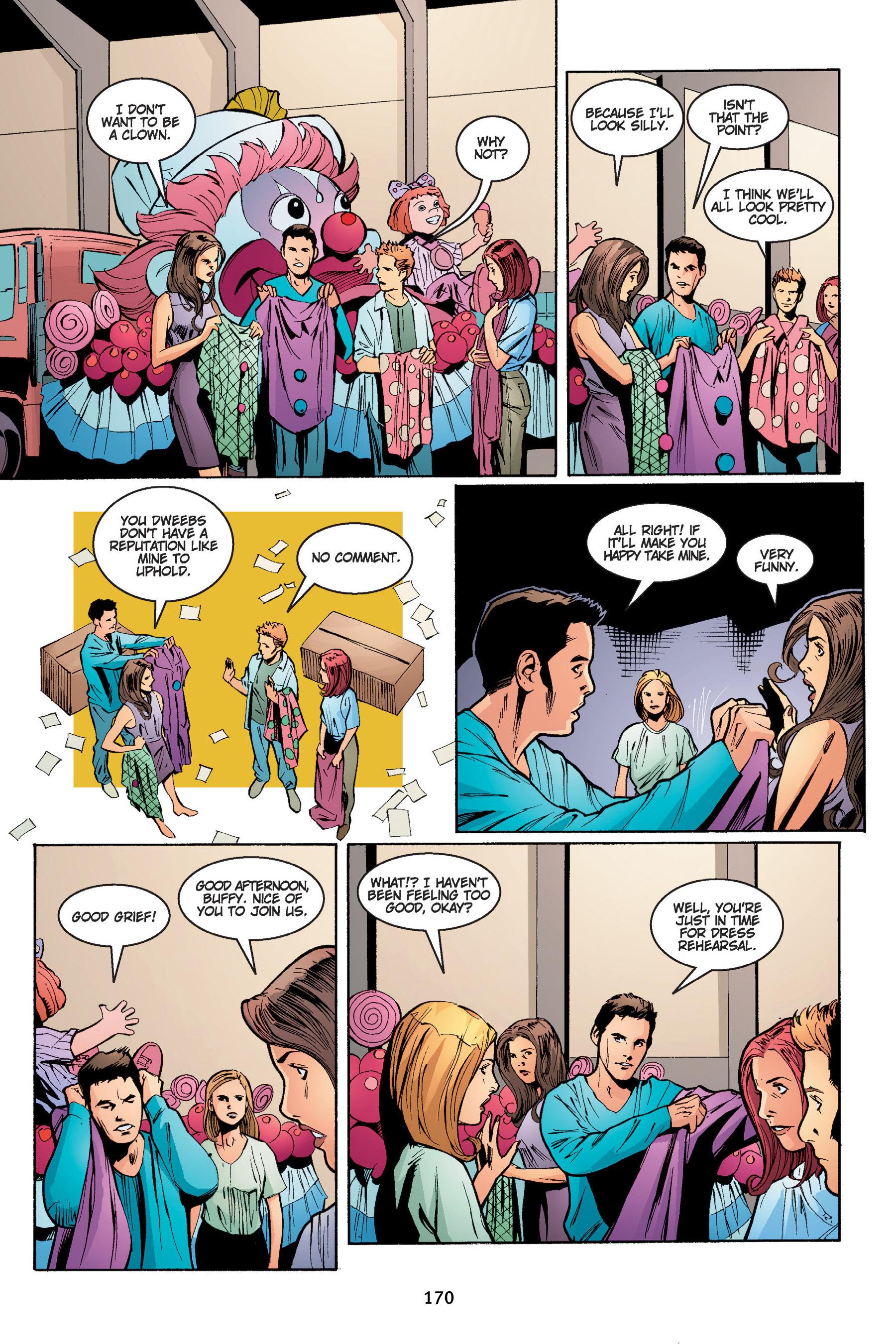Read online Buffy the Vampire Slayer: Omnibus comic -  Issue # TPB 4 - 171