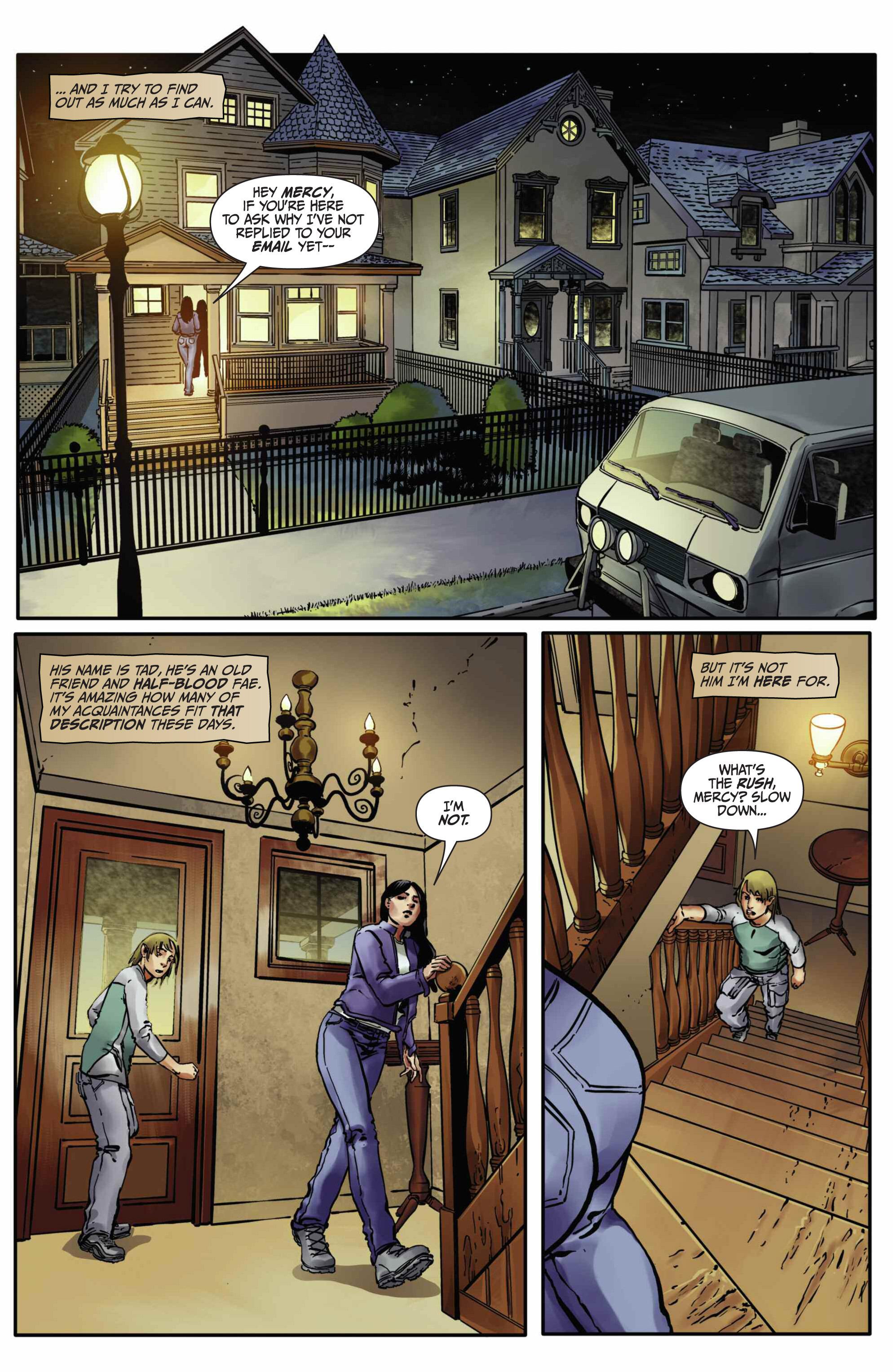 Read online Mercy Thompson comic -  Issue #5 - 10