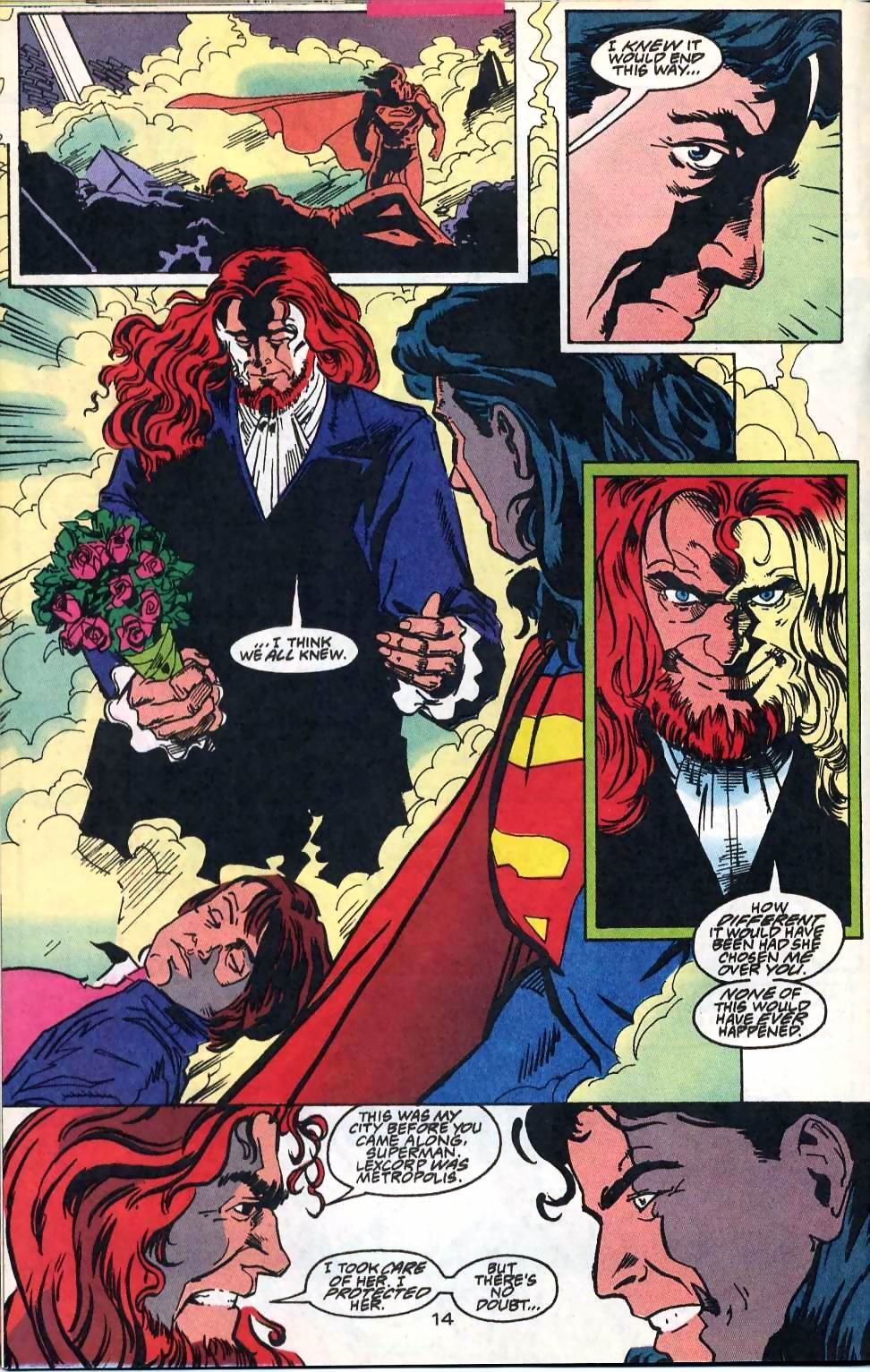 Read online Adventures of Superman (1987) comic -  Issue #514 - 15