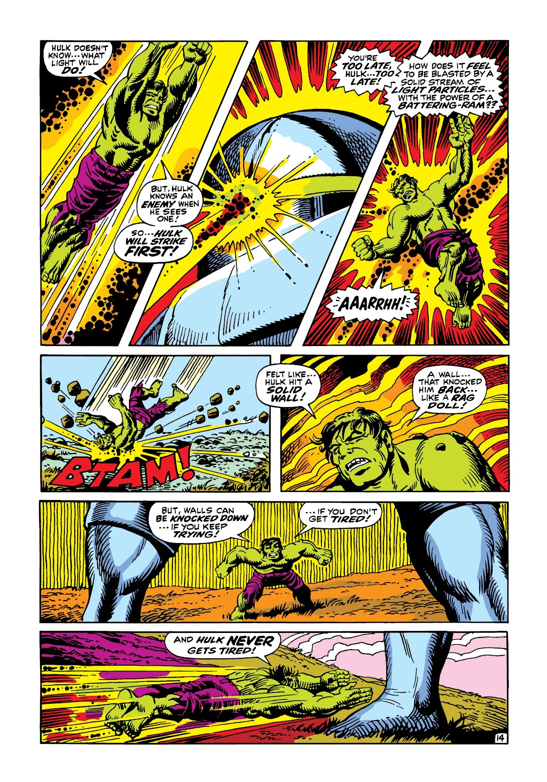 Read online Marvel Masterworks: The Incredible Hulk comic -  Issue # TPB 5 (Part 3) - 9