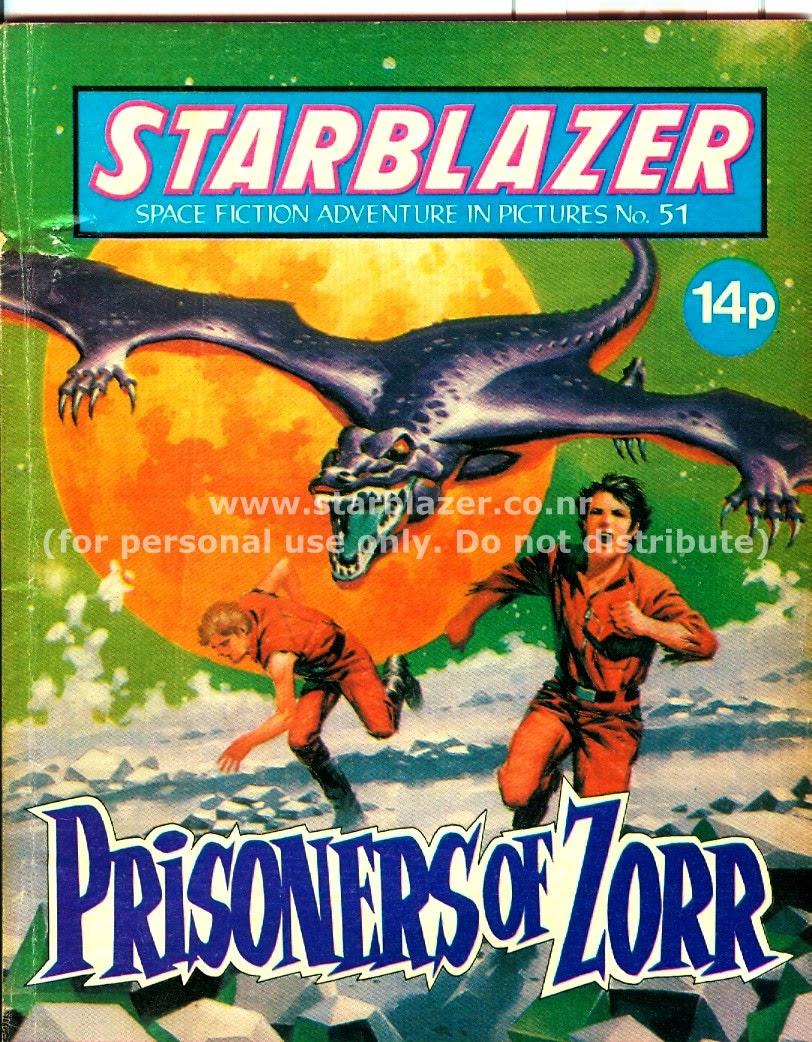 Starblazer issue 51 - Page 1