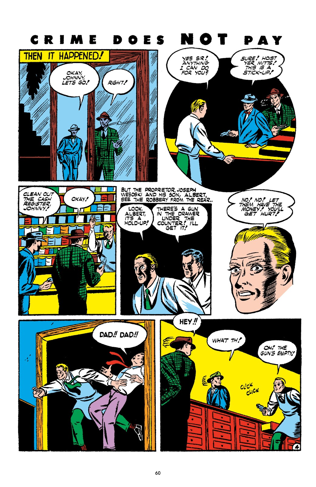 Read online Crime Does Not Pay Archives comic -  Issue # TPB 2 (Part 1) - 60
